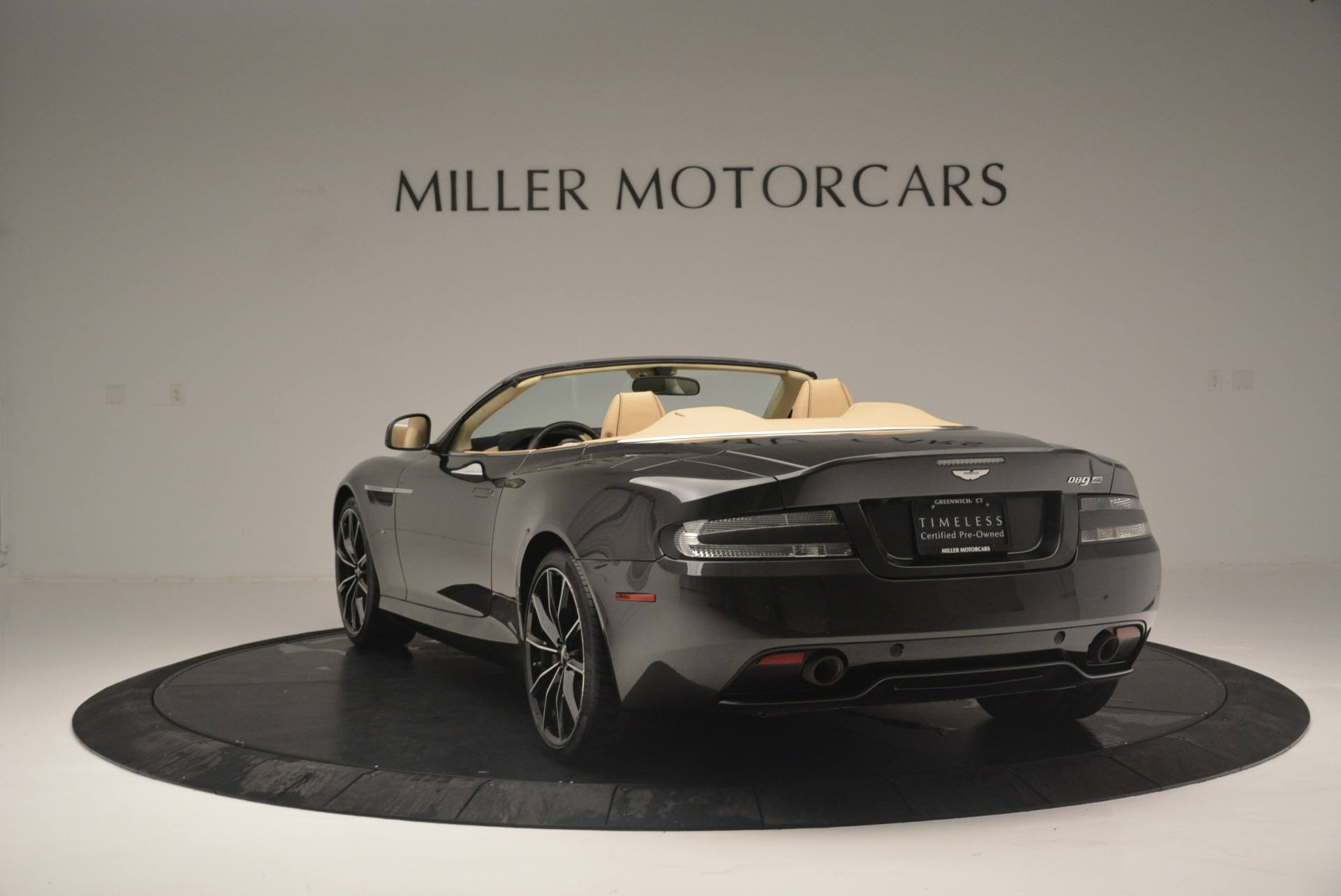 Used 2016 Aston Martin DB9 GT Volante For Sale In Greenwich, CT 2429_p5