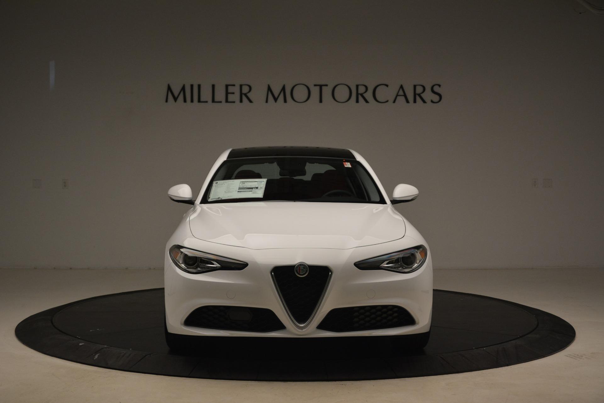 New 2018 Alfa Romeo Giulia Q4 For Sale In Greenwich, CT 2437_p12