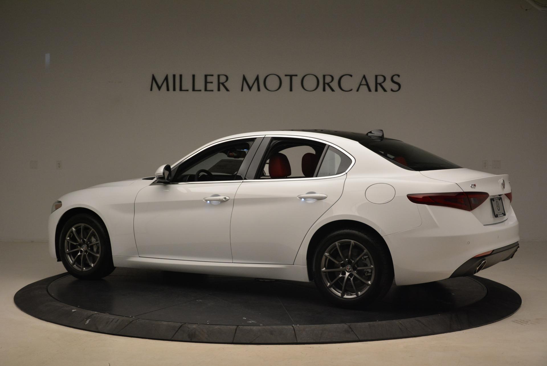 New 2018 Alfa Romeo Giulia Q4 For Sale In Greenwich, CT 2437_p4