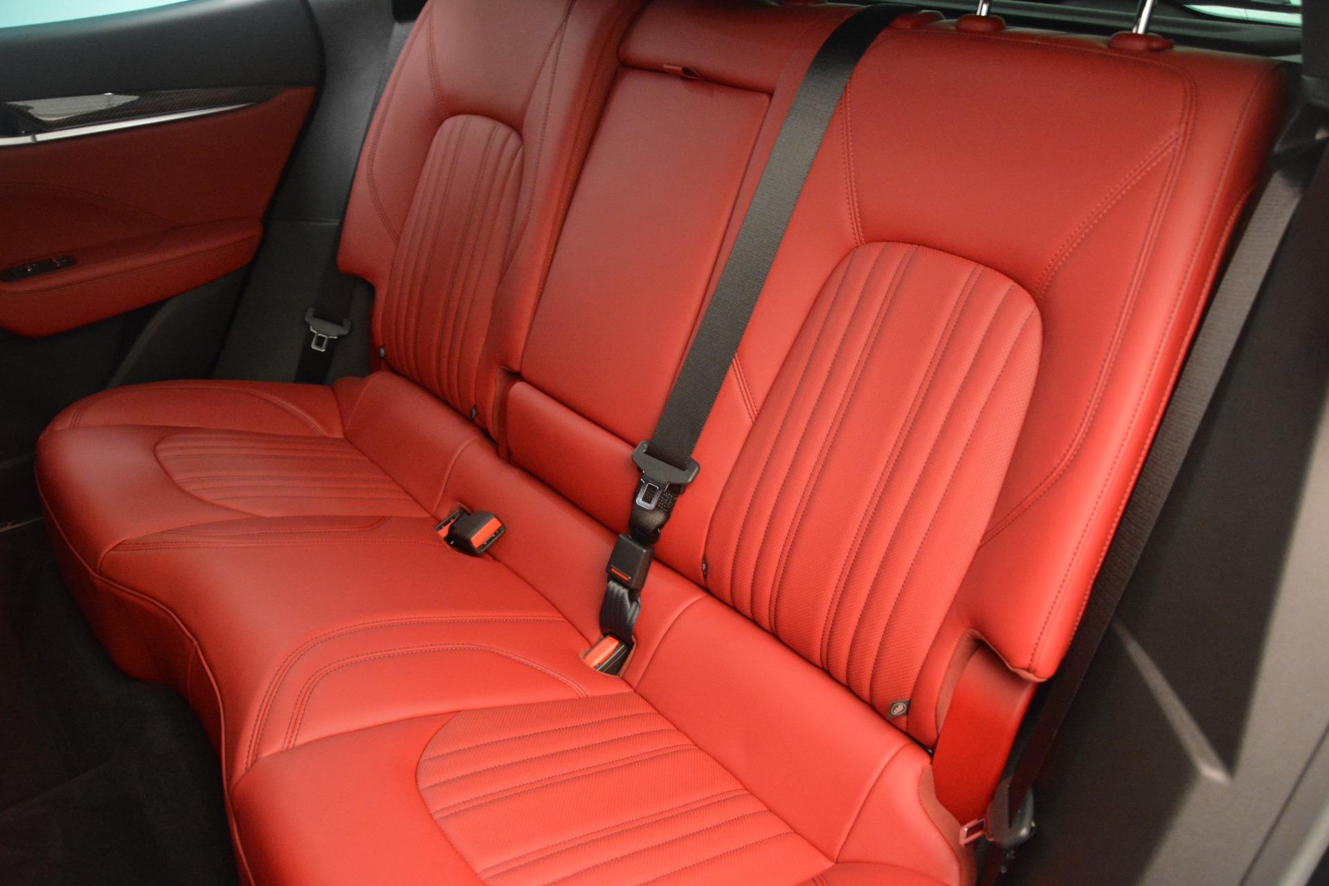 New 2018 Maserati Levante Q4 GranLusso For Sale In Greenwich, CT 2451_p18