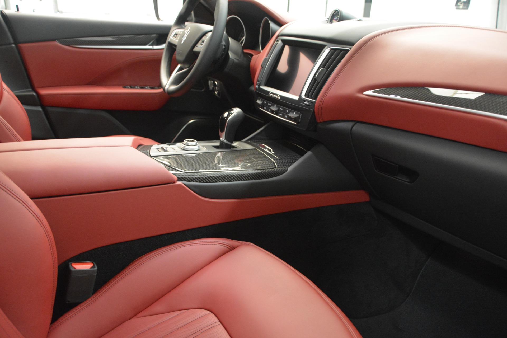 New 2018 Maserati Levante Q4 GranLusso For Sale In Greenwich, CT 2451_p20