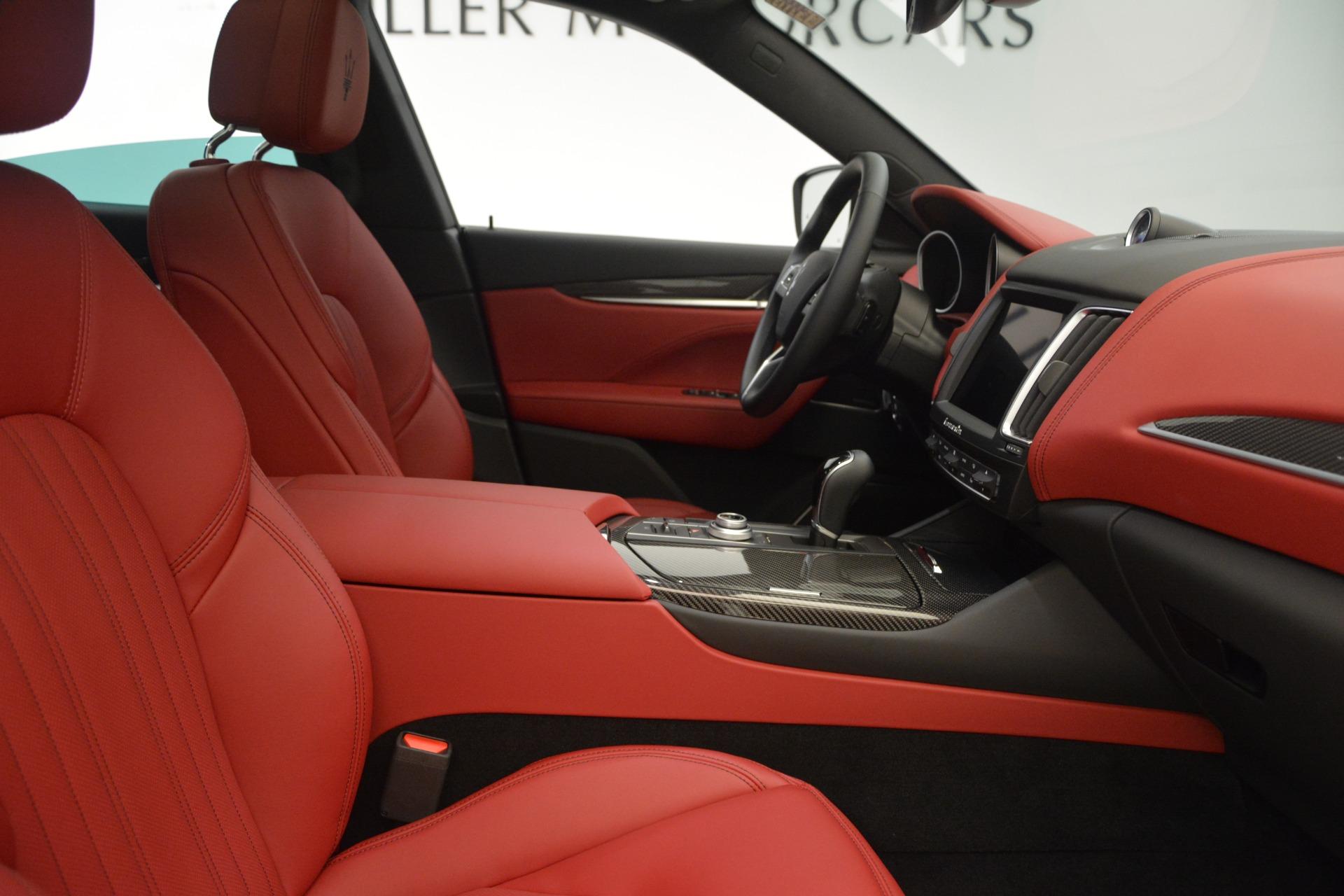 New 2018 Maserati Levante Q4 GranLusso For Sale In Greenwich, CT 2451_p21