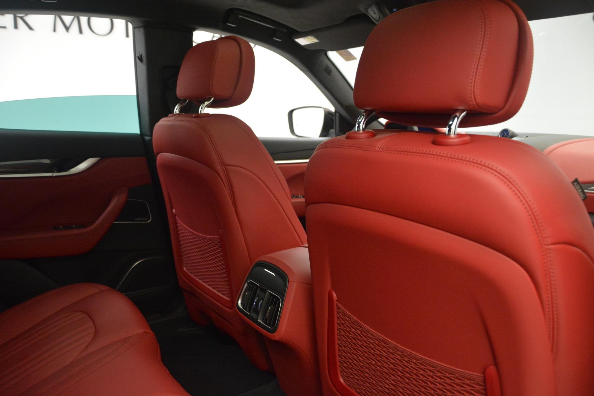 New 2018 Maserati Levante Q4 GranLusso For Sale In Greenwich, CT 2451_p22