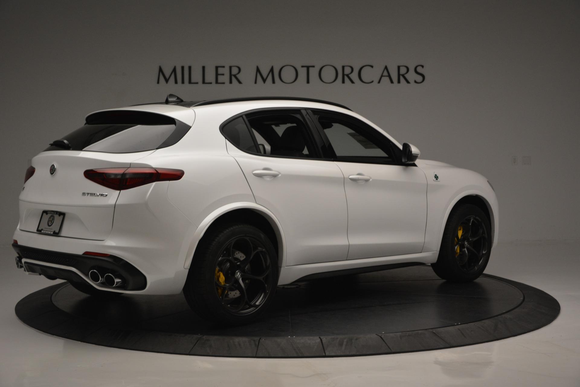 New 2018 Alfa Romeo Stelvio Quadrifoglio Quadrifoglio For Sale In Greenwich, CT 2456_p9