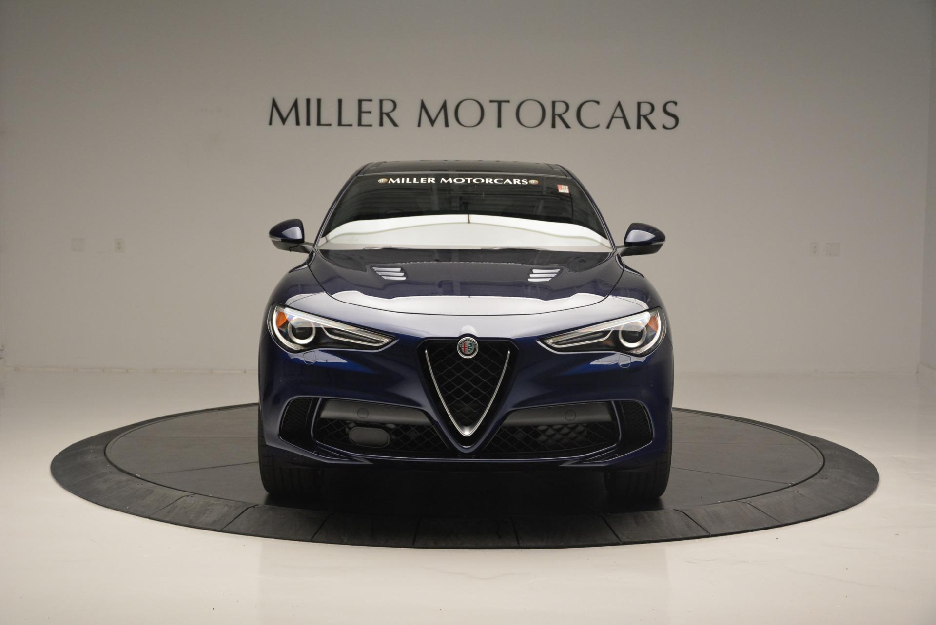 New 2018 Alfa Romeo Stelvio Quadrifoglio For Sale In Greenwich, CT 2458_p12