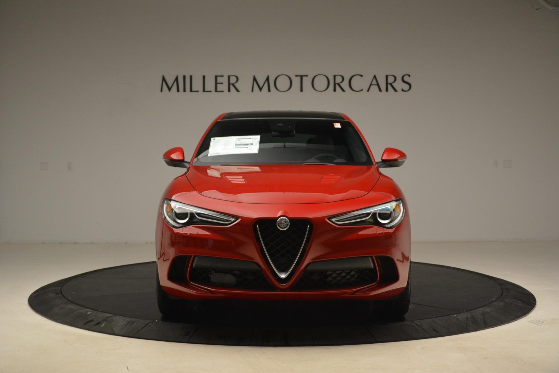 New 2018 Alfa Romeo Stelvio Quadrifoglio For Sale In Greenwich, CT 2459_p12