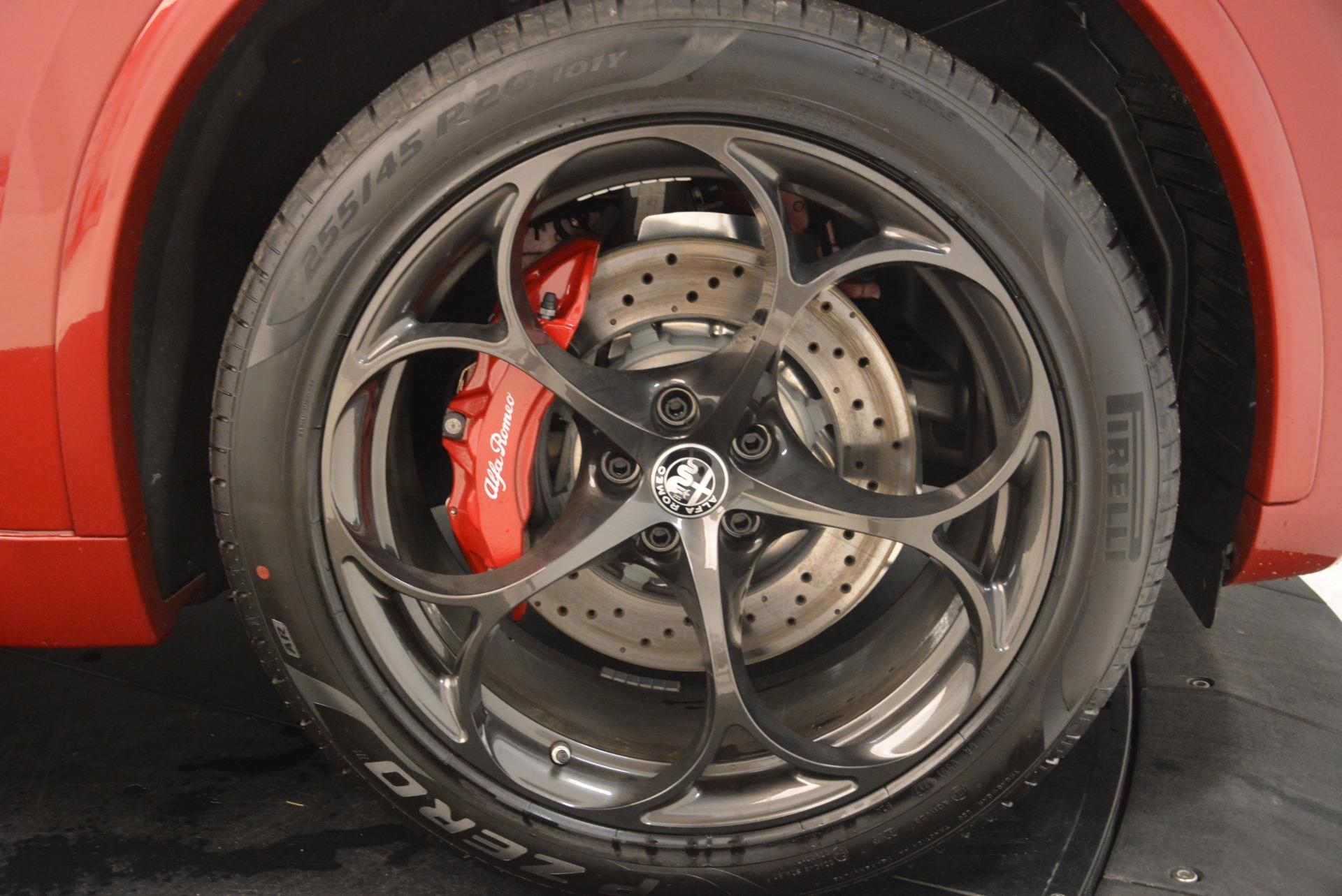 New 2018 Alfa Romeo Stelvio Quadrifoglio For Sale In Greenwich, CT 2459_p25
