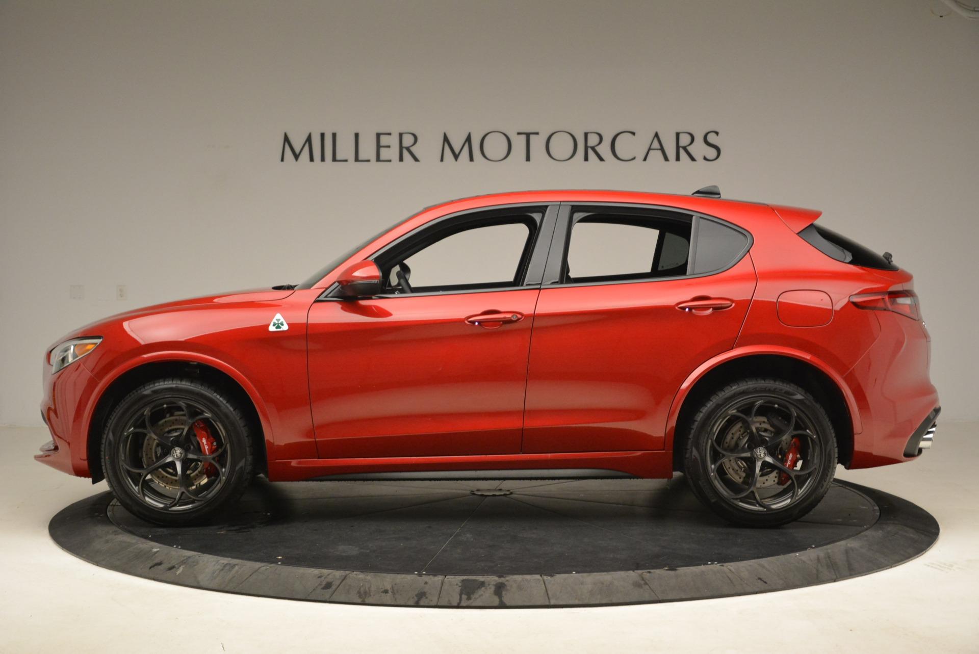New 2018 Alfa Romeo Stelvio Quadrifoglio For Sale In Greenwich, CT 2459_p3