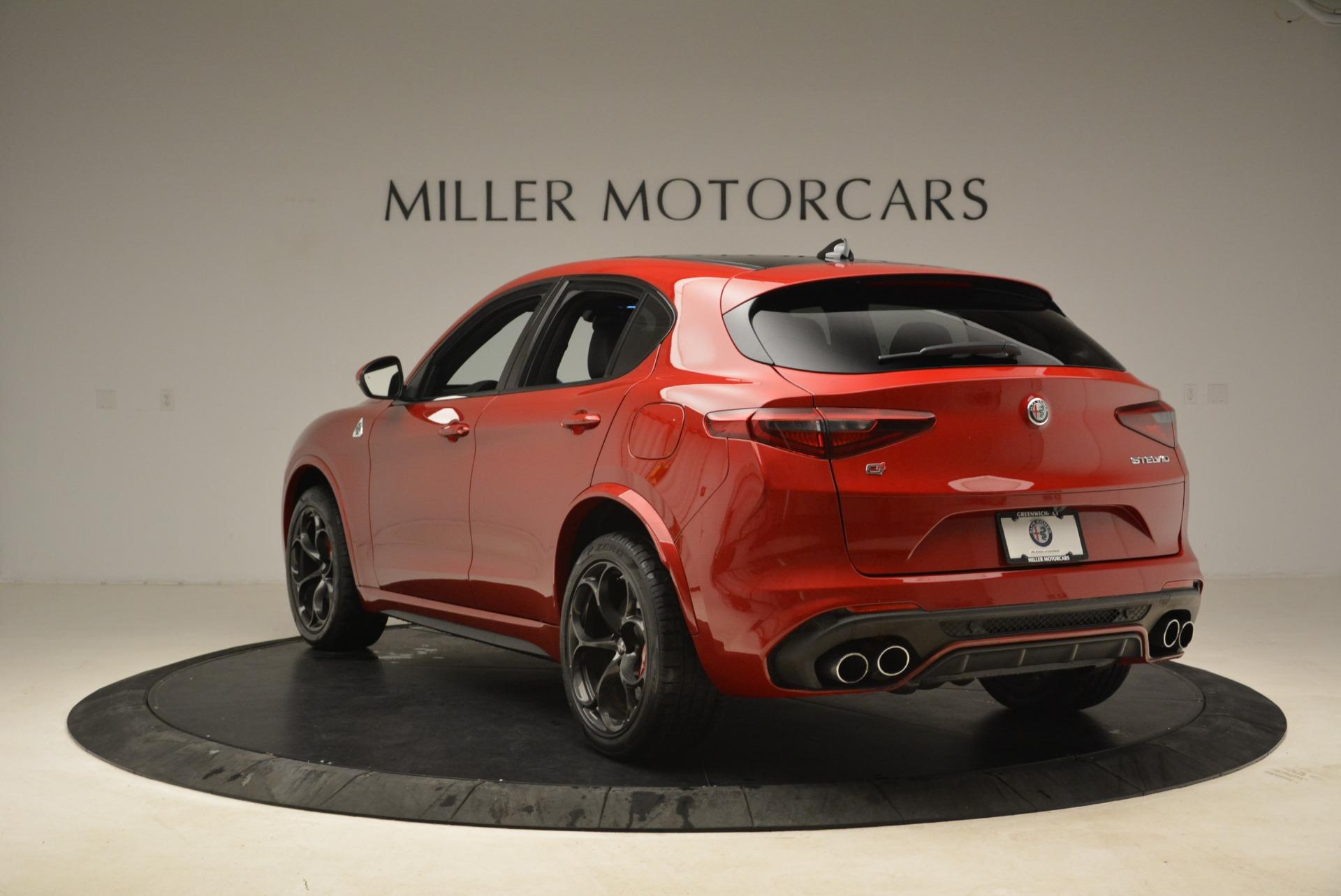 New 2018 Alfa Romeo Stelvio Quadrifoglio For Sale In Greenwich, CT 2459_p5