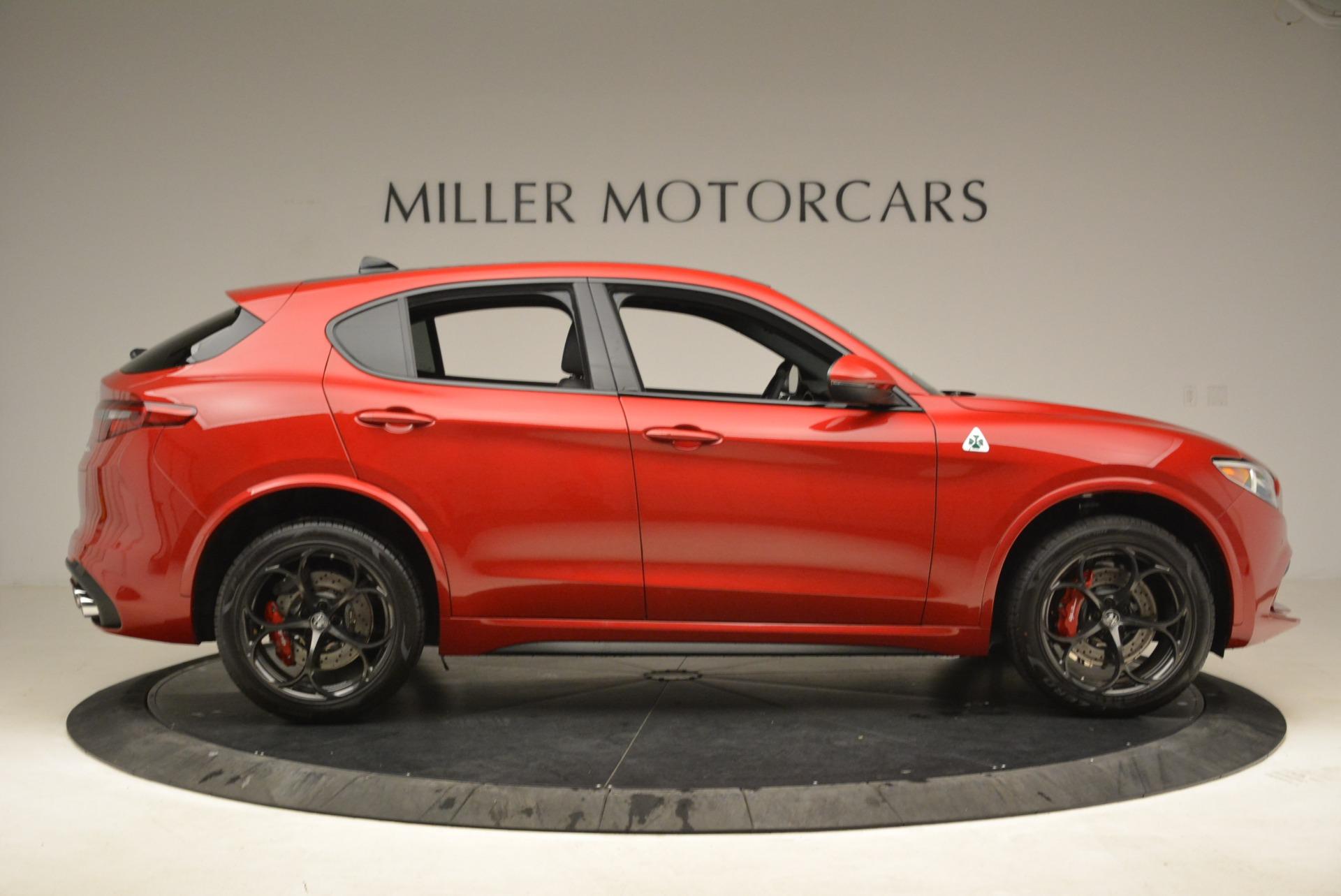 New 2018 Alfa Romeo Stelvio Quadrifoglio For Sale In Greenwich, CT 2459_p9