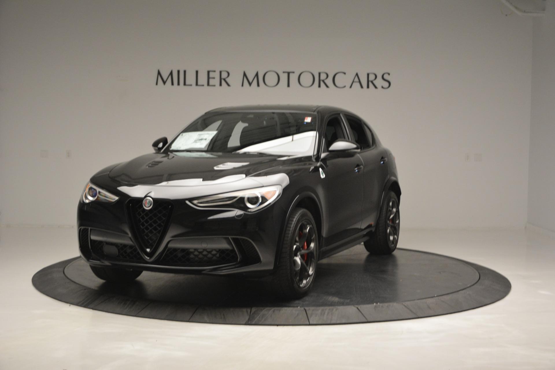 New 2018 Alfa Romeo Stelvio Quadrifoglio For Sale In Greenwich, CT 2460_main