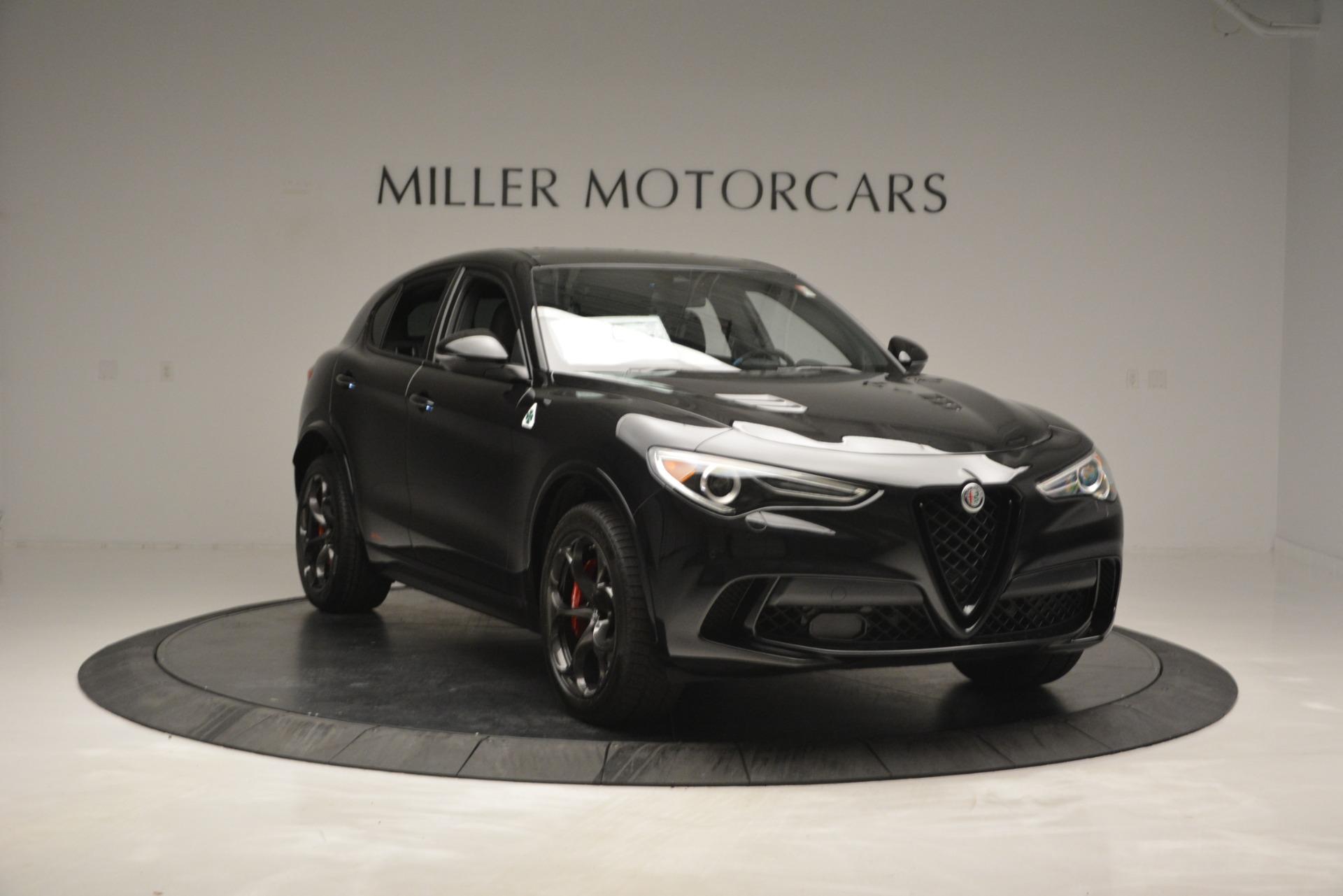 New 2018 Alfa Romeo Stelvio Quadrifoglio For Sale In Greenwich, CT 2460_p11