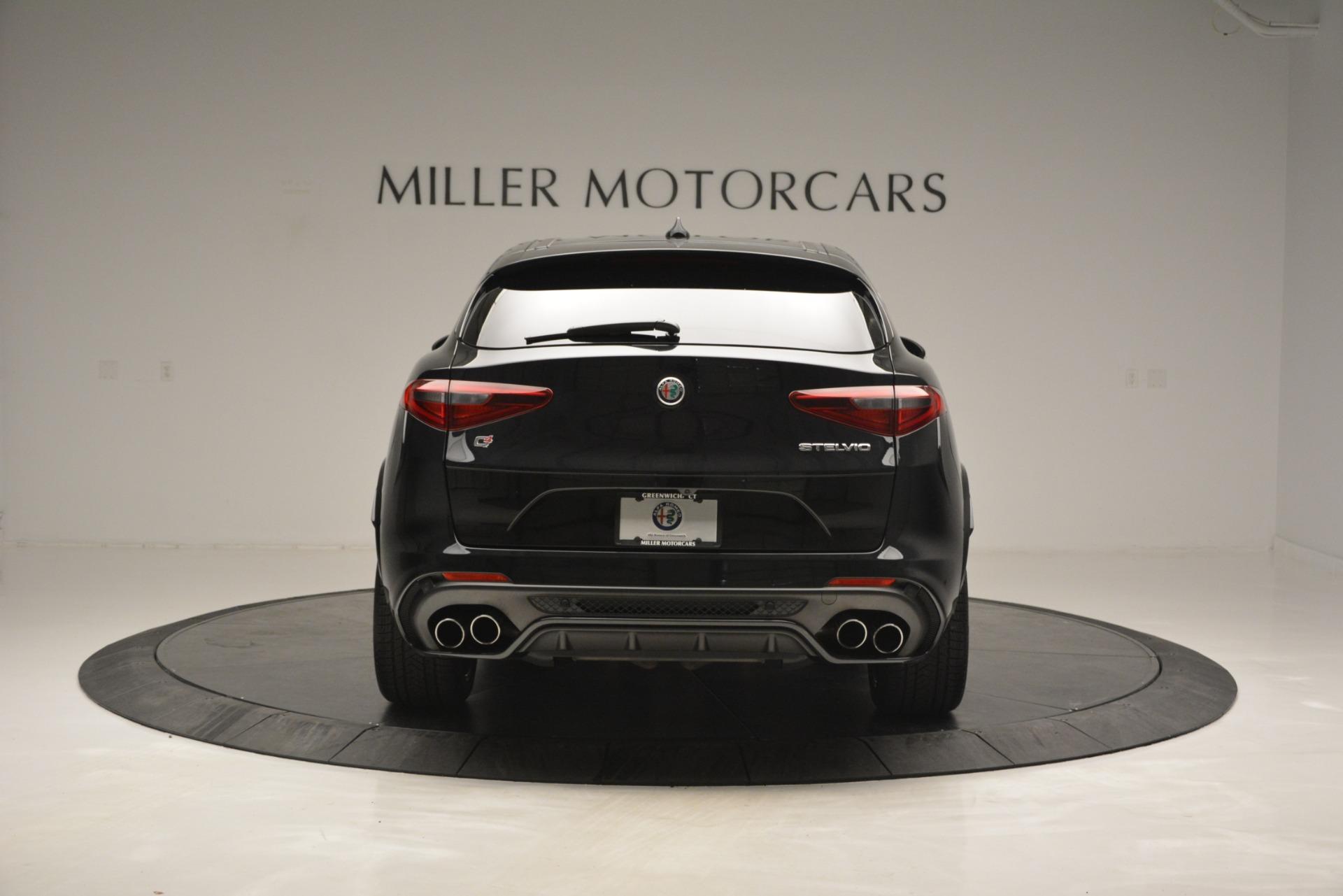 New 2018 Alfa Romeo Stelvio Quadrifoglio For Sale In Greenwich, CT 2460_p6