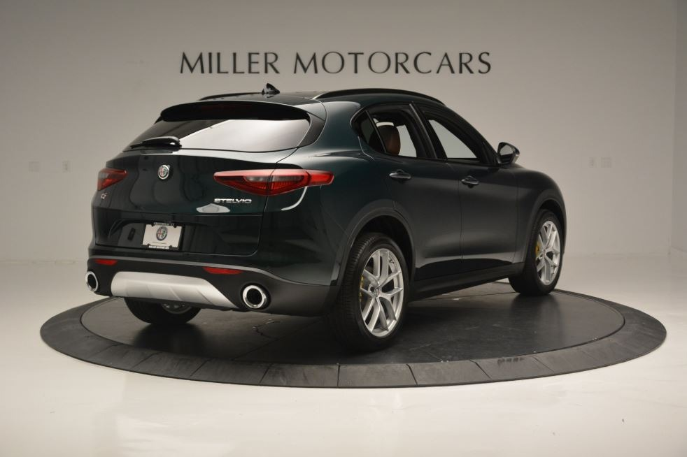 New 2018 Alfa Romeo Stelvio Ti Sport Q4 For Sale In Greenwich, CT 2471_p8