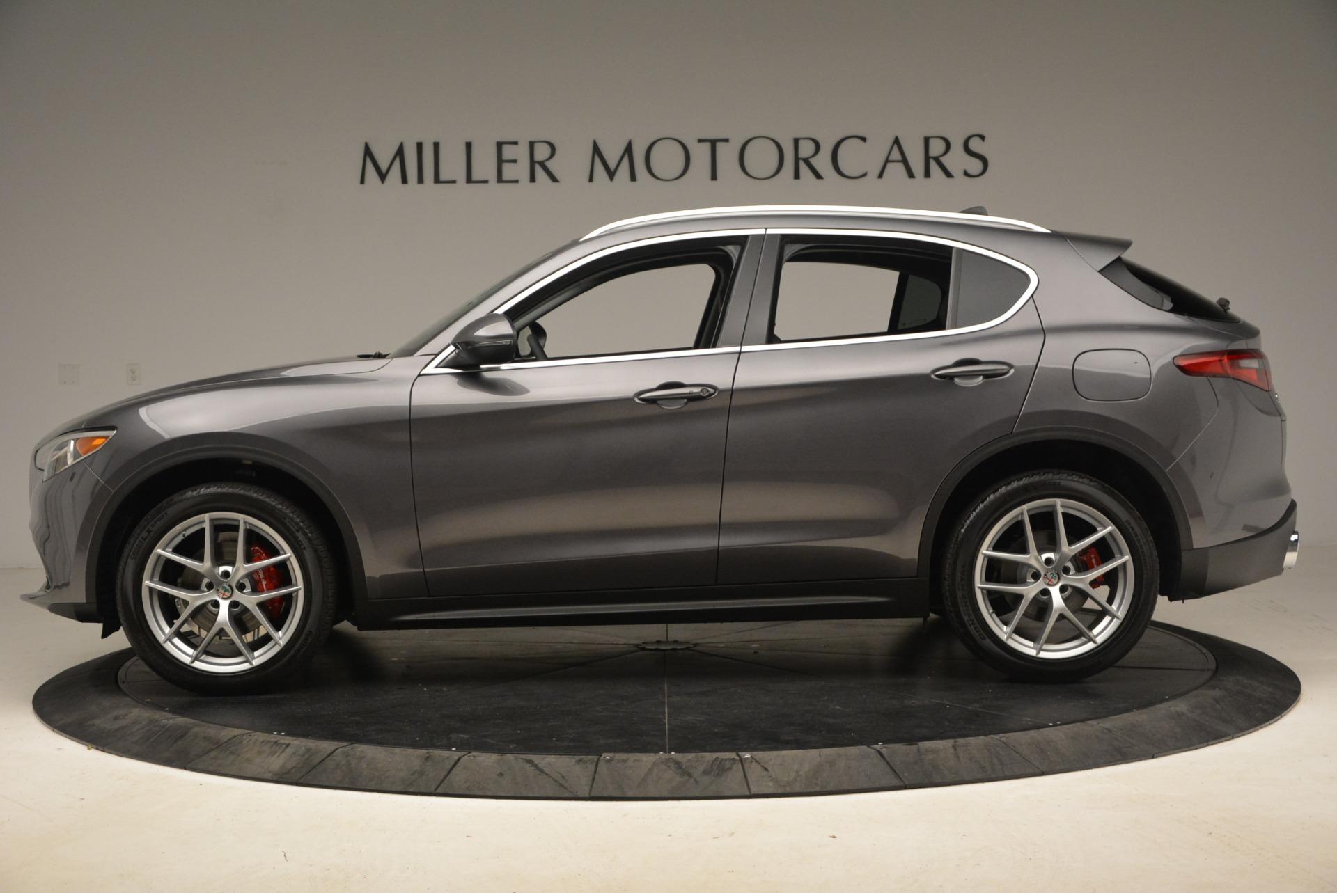 New 2018 Alfa Romeo Stelvio Ti Q4 For Sale In Greenwich, CT 2480_p3