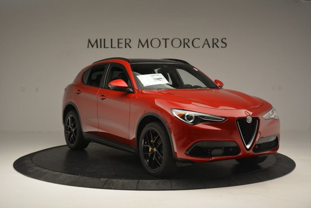 New 2018 Alfa Romeo Stelvio Ti Sport Q4 For Sale In Greenwich, CT 2512_p11