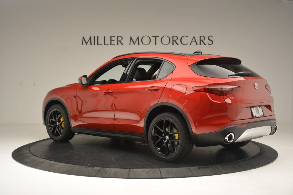 New 2018 Alfa Romeo Stelvio Ti Sport Q4 For Sale In Greenwich, CT 2512_p4