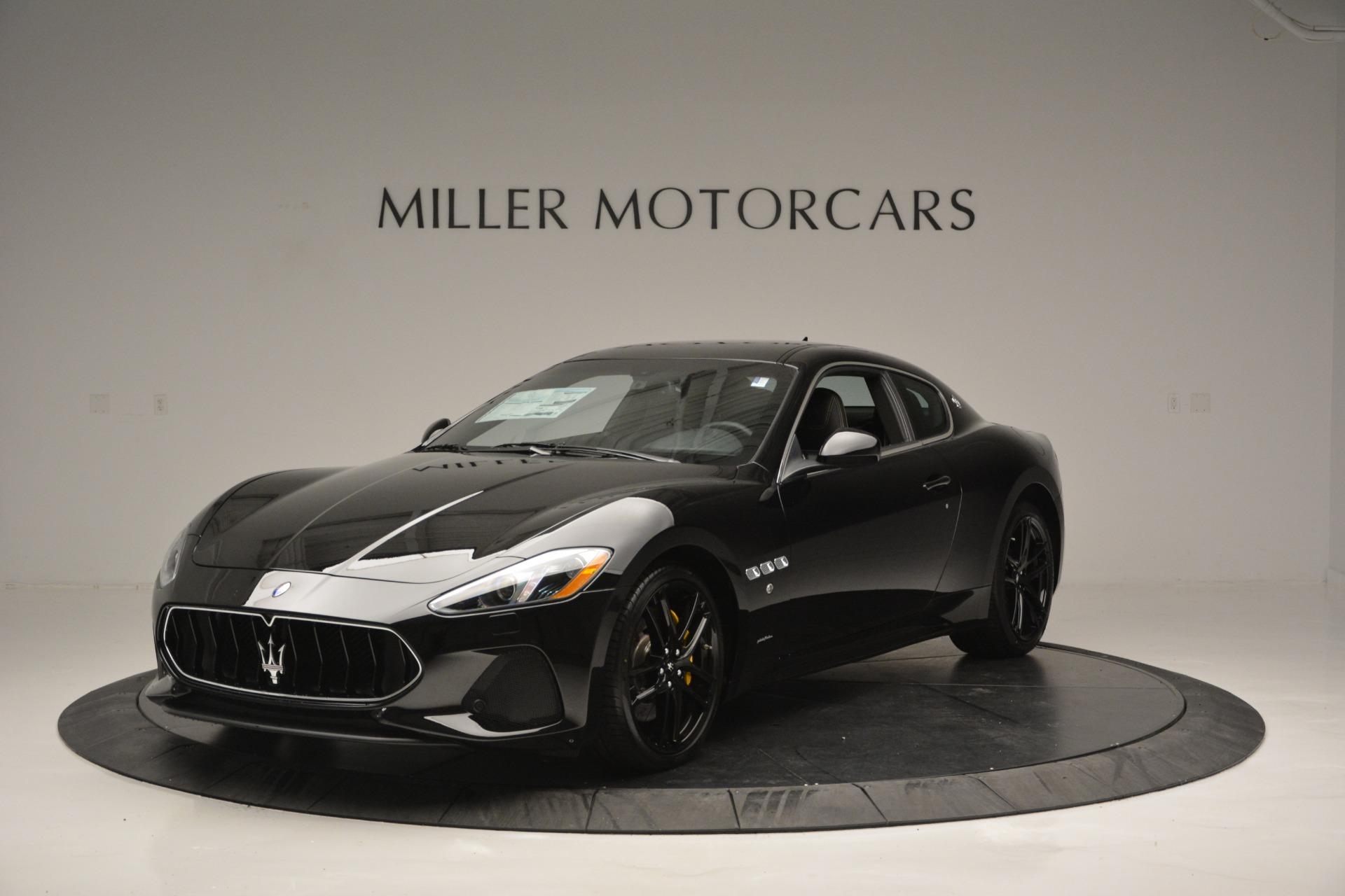 New 2018 Maserati GranTurismo Sport For Sale In Greenwich, CT 2513_main