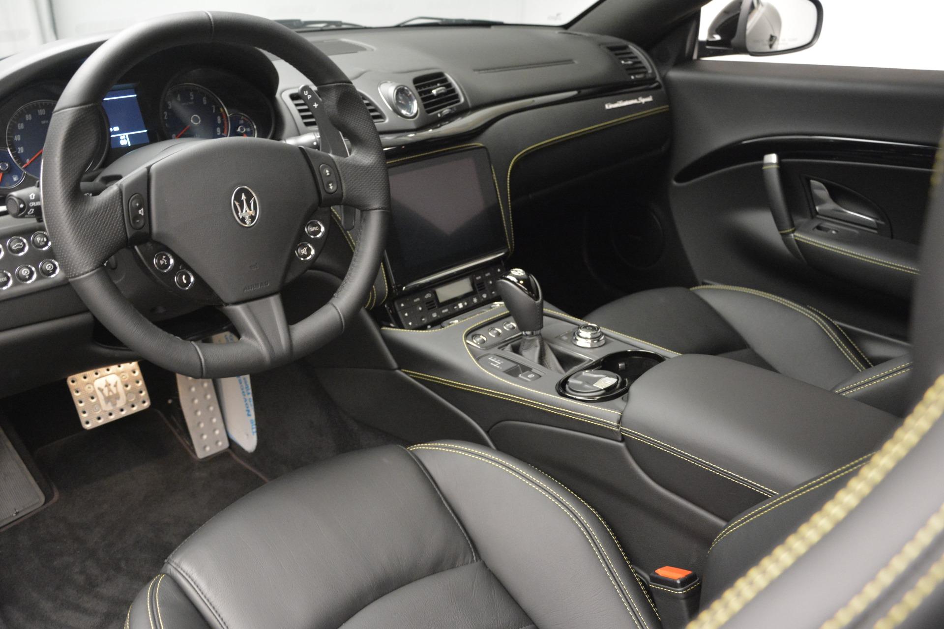 New 2018 Maserati GranTurismo Sport For Sale In Greenwich, CT 2513_p13