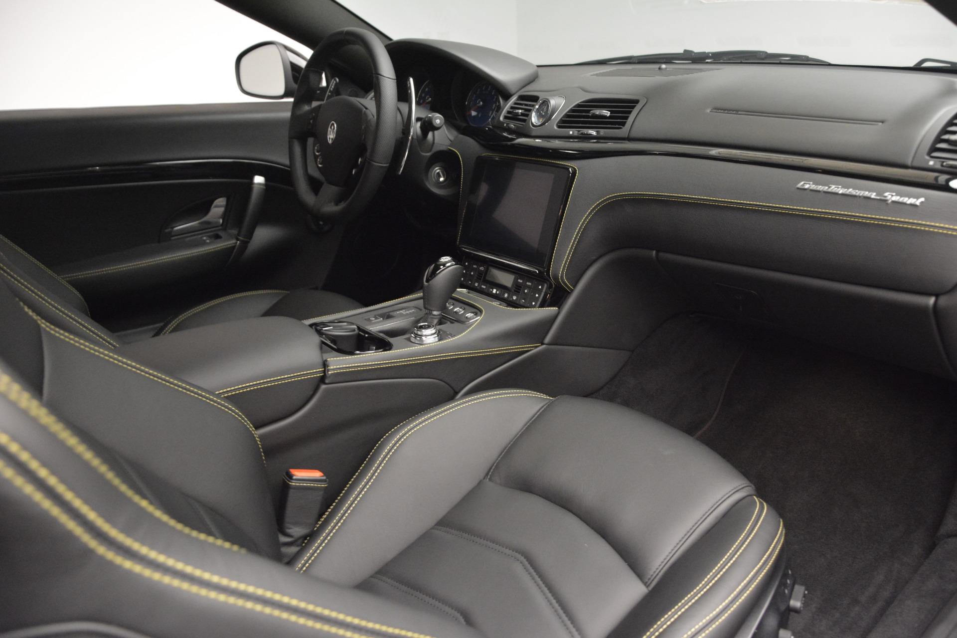 New 2018 Maserati GranTurismo Sport For Sale In Greenwich, CT 2513_p18