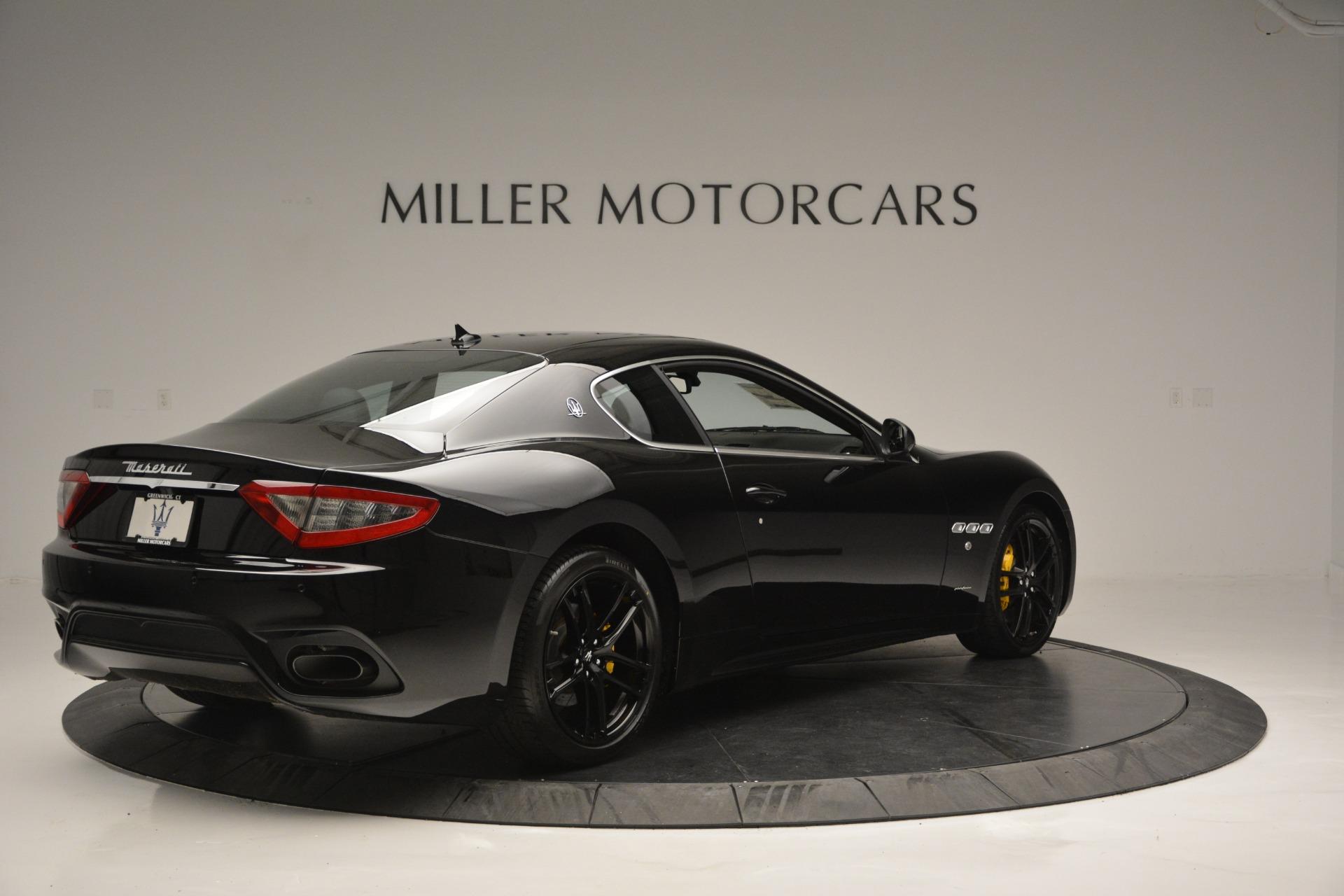 New 2018 Maserati GranTurismo Sport For Sale In Greenwich, CT 2513_p7