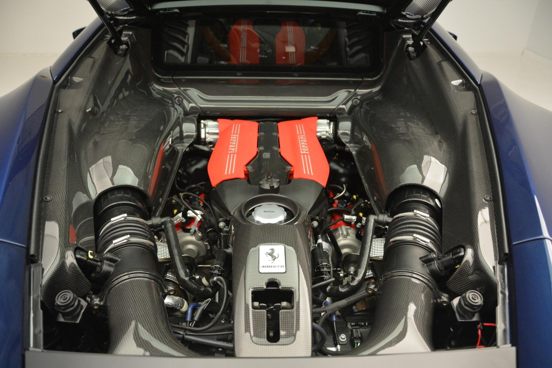 Used 2018 Ferrari 488 GTB  For Sale In Greenwich, CT 2560_p17