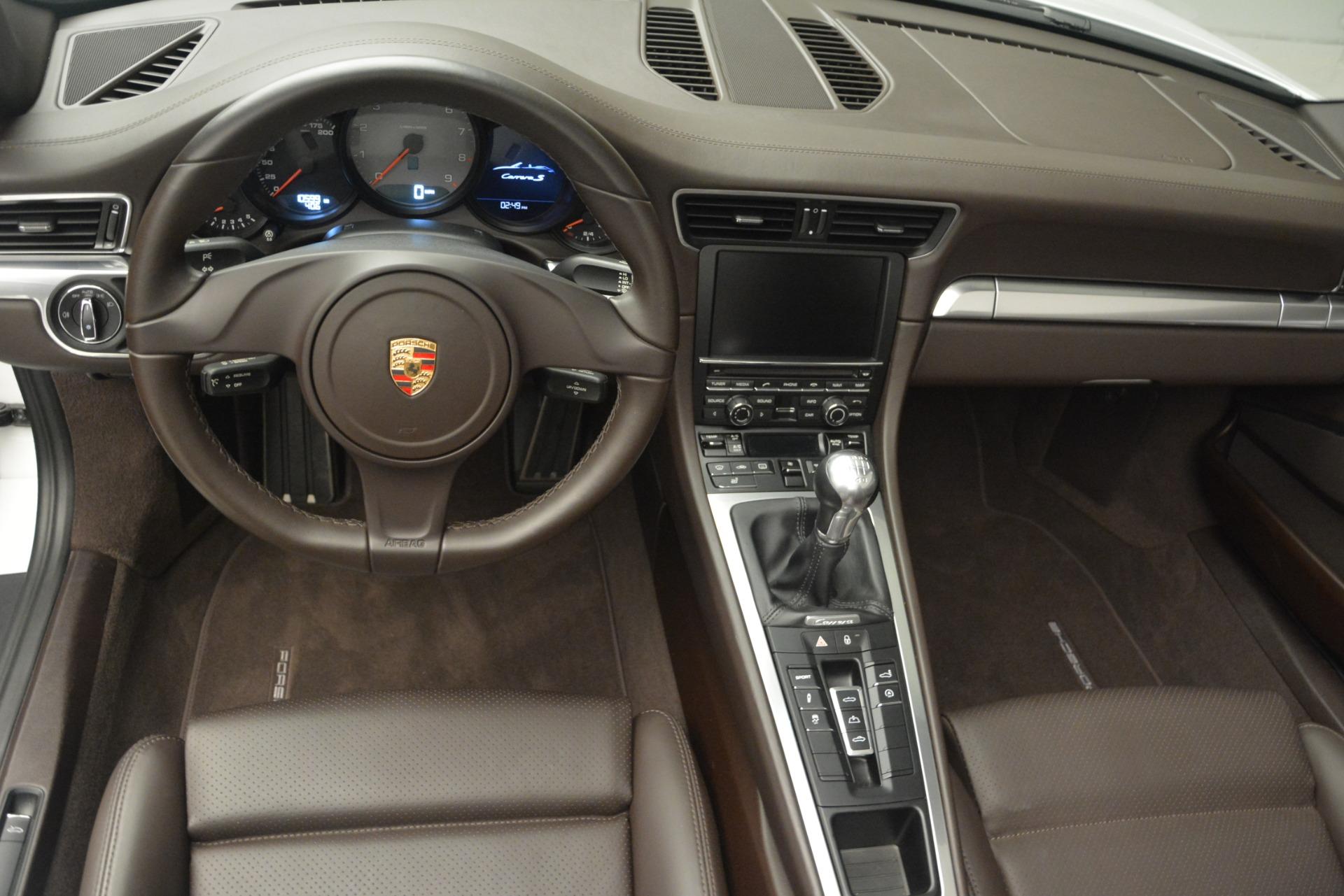 Used 2015 Porsche 911 Carrera S For Sale In Greenwich, CT 2578_p15