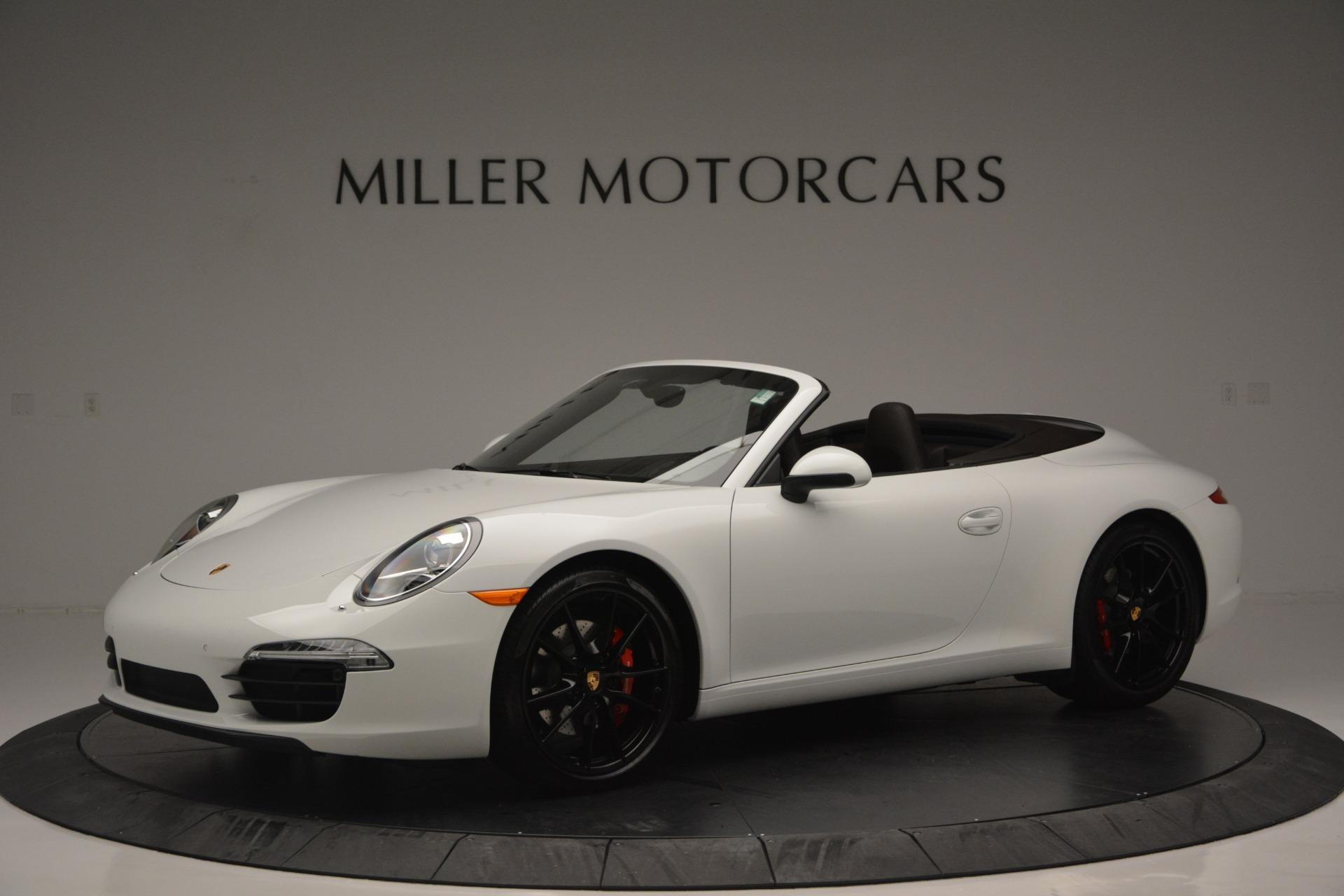 Used 2015 Porsche 911 Carrera S For Sale In Greenwich, CT 2578_p2