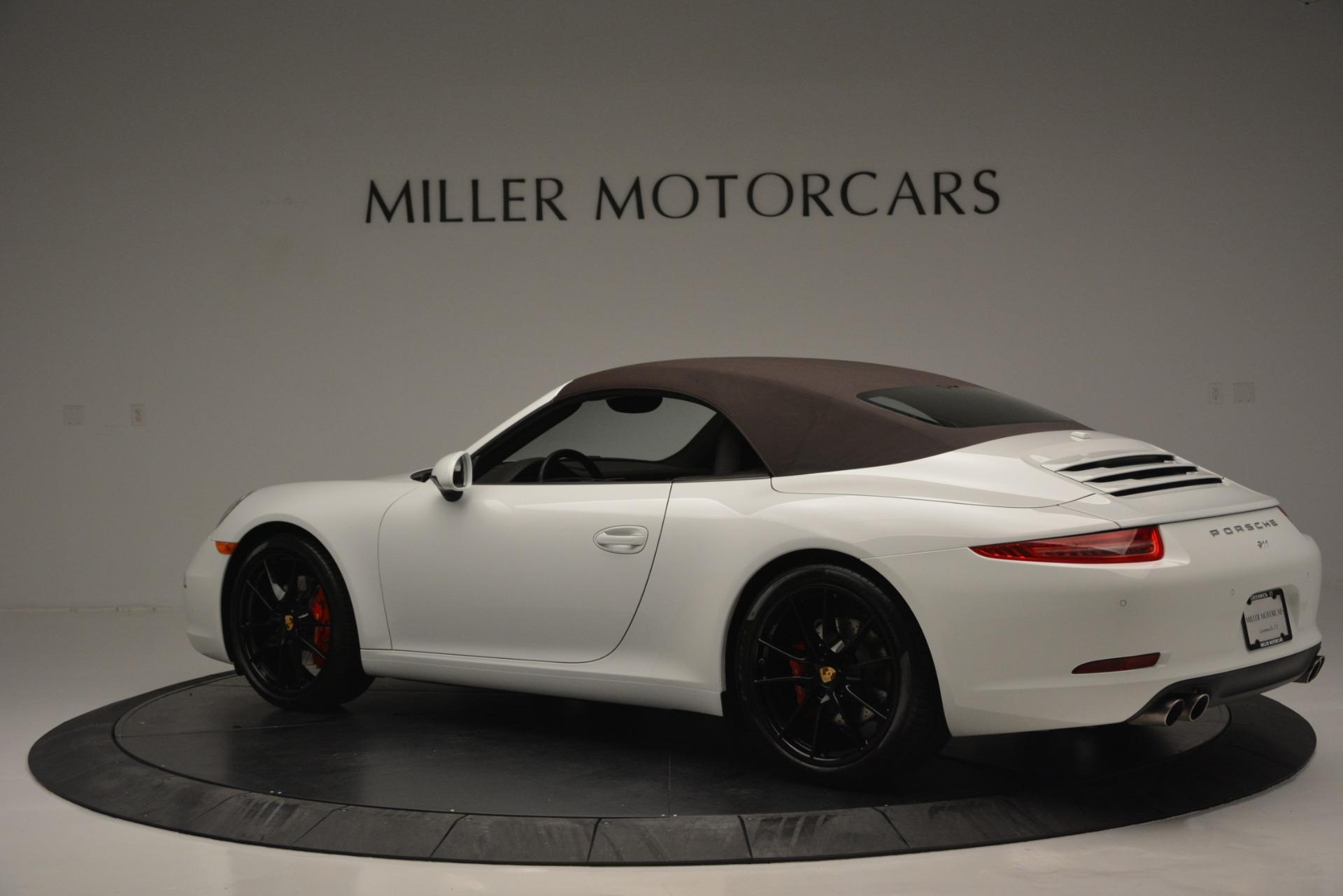 Used 2015 Porsche 911 Carrera S For Sale In Greenwich, CT 2578_p31