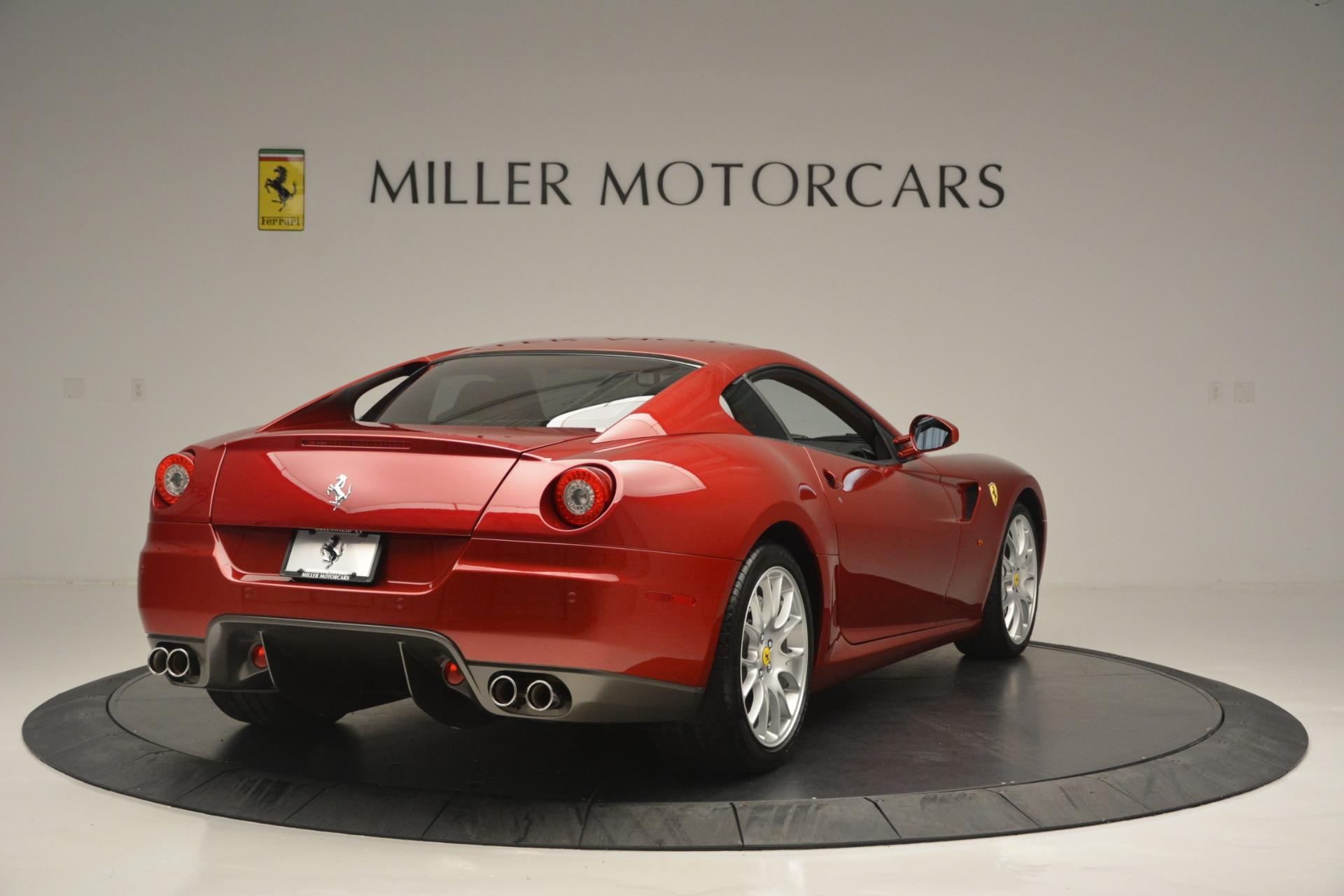 Used 2009 Ferrari 599 GTB Fiorano  For Sale In Greenwich, CT 2617_p7