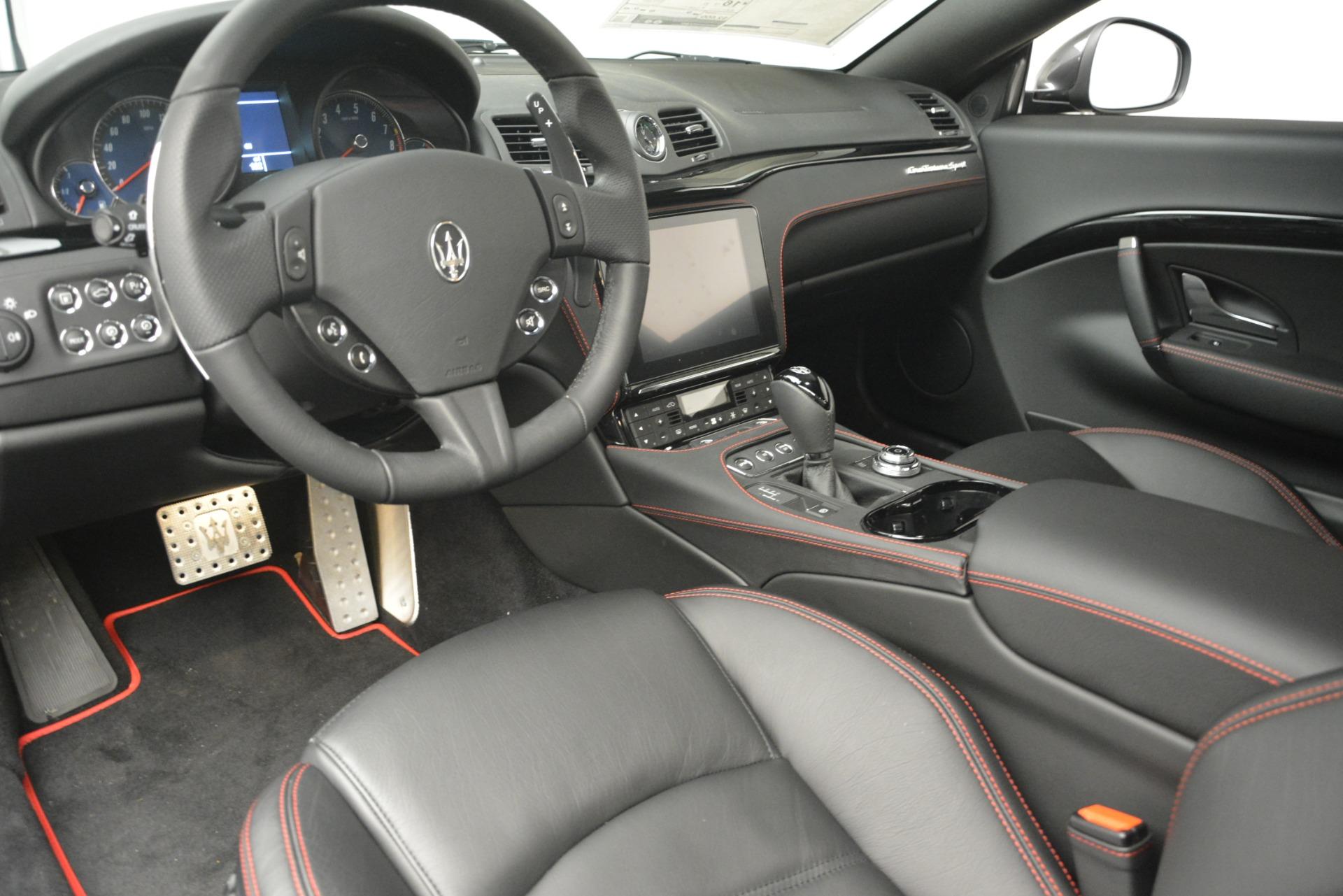 New 2018 Maserati GranTurismo Sport For Sale In Greenwich, CT 2621_p13
