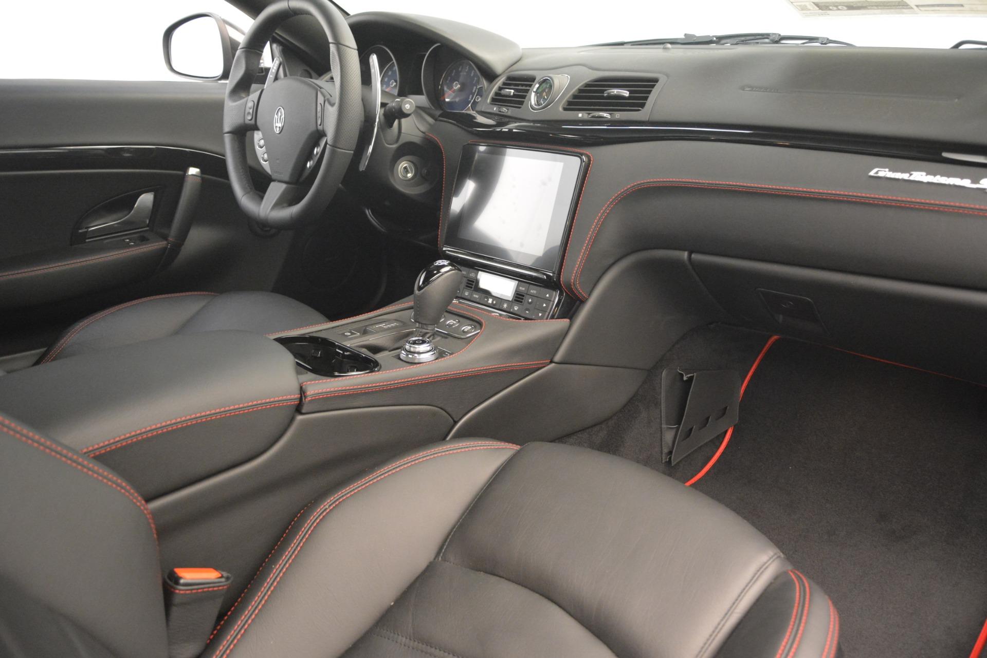 New 2018 Maserati GranTurismo Sport For Sale In Greenwich, CT 2621_p19