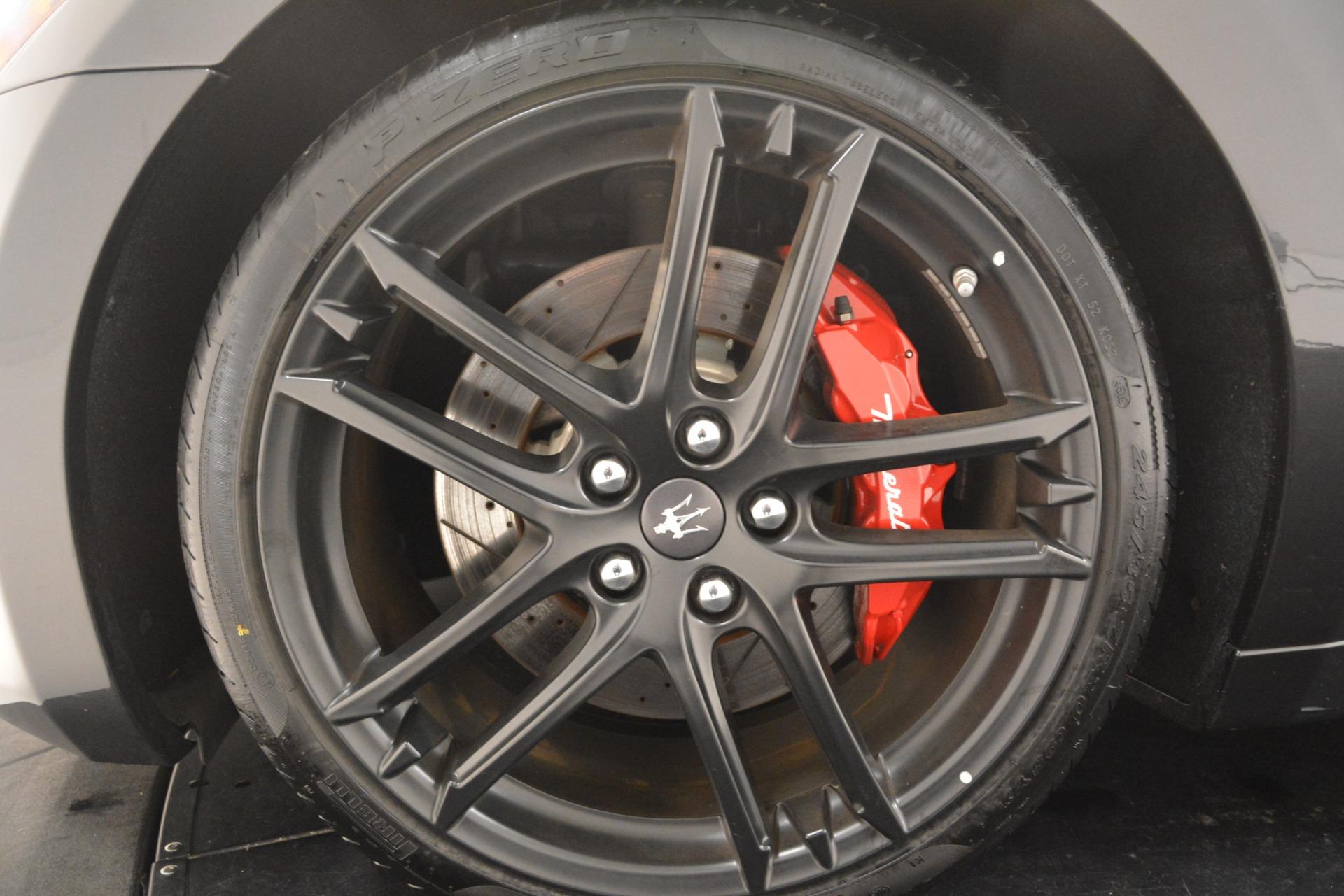 New 2018 Maserati GranTurismo Sport For Sale In Greenwich, CT 2621_p23