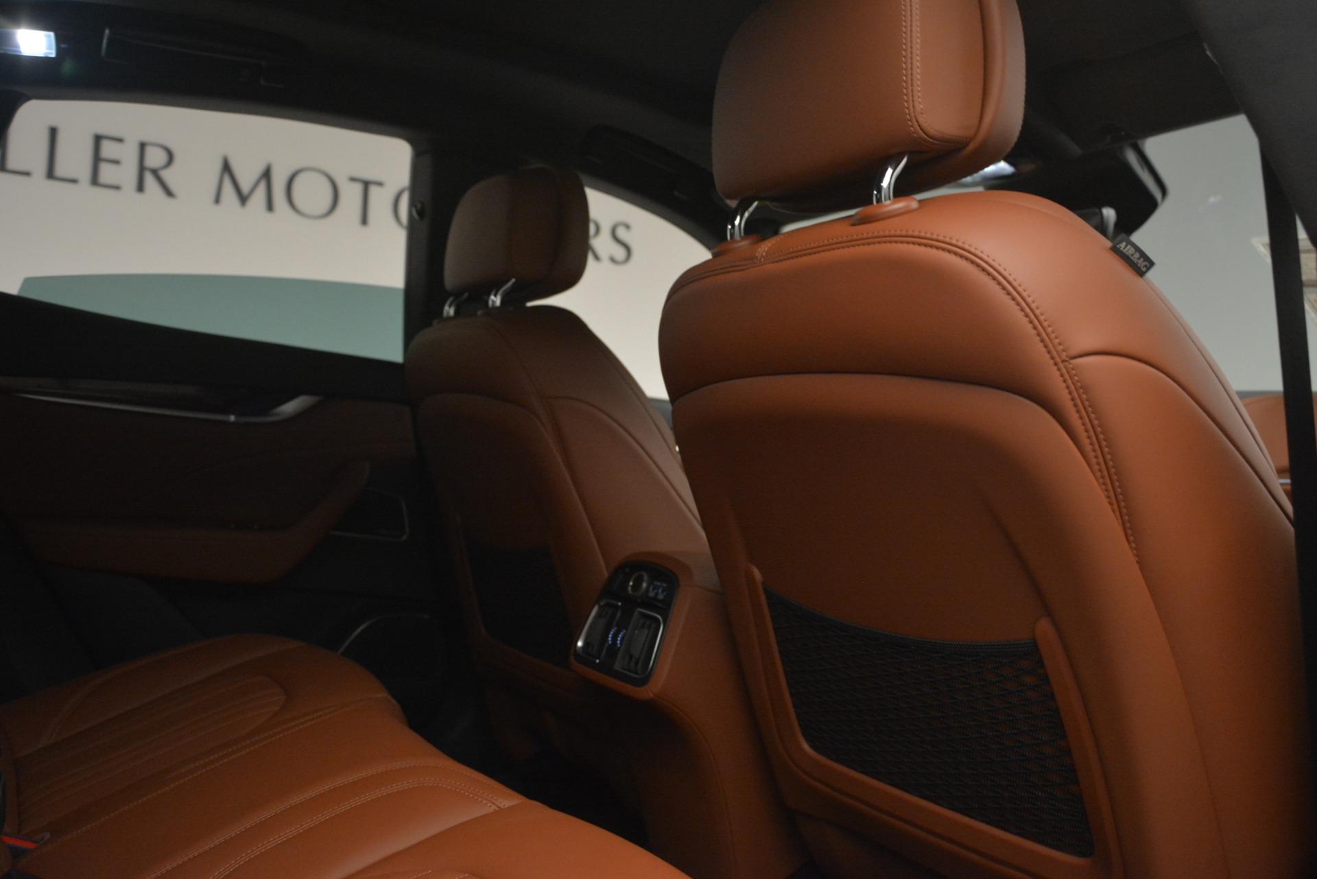 Used 2019 Maserati Levante Q4 GranLusso For Sale In Greenwich, CT 2636_p23