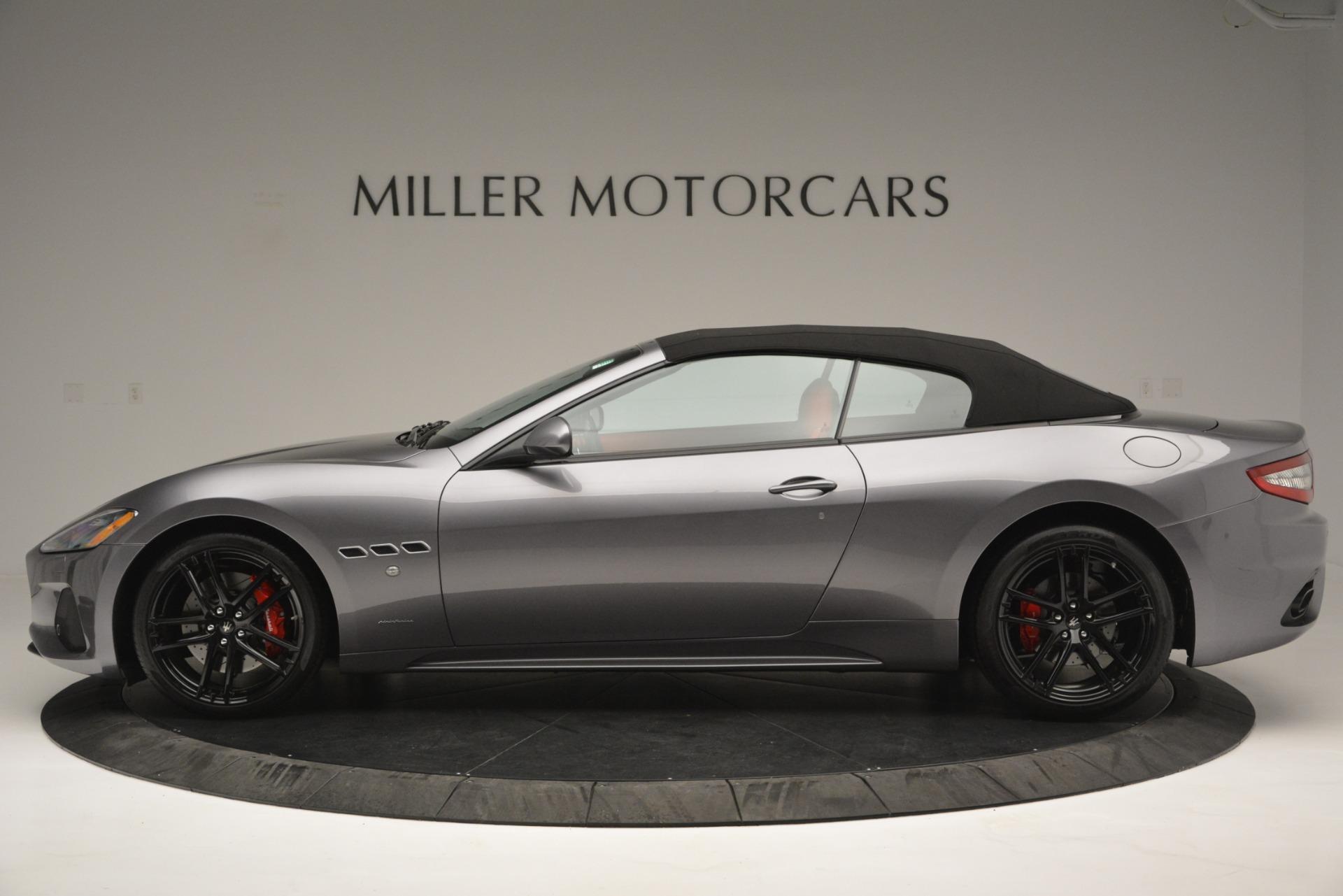 Used 2018 Maserati GranTurismo Sport For Sale In Greenwich, CT 2637_p13