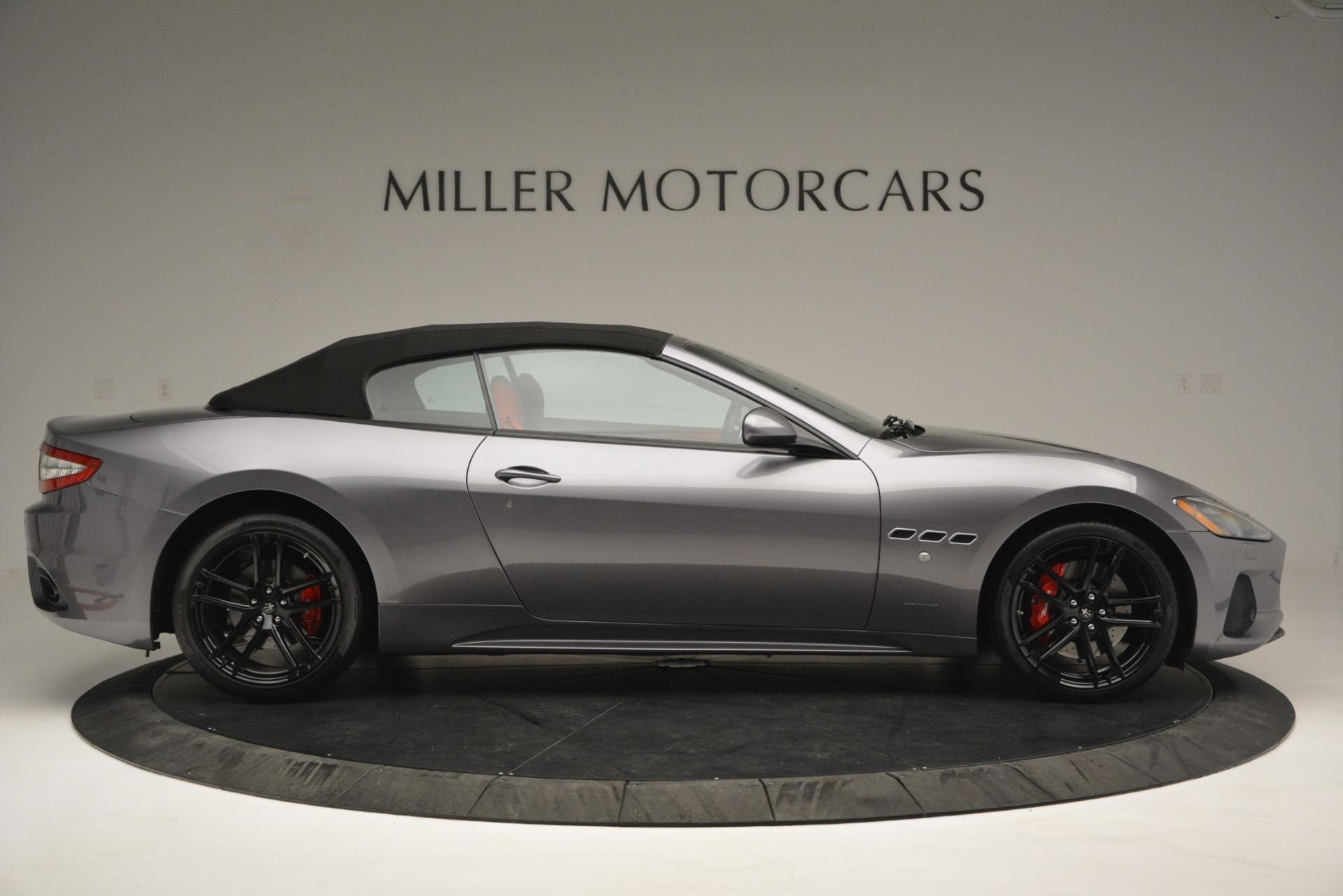 Used 2018 Maserati GranTurismo Sport For Sale In Greenwich, CT 2637_p18