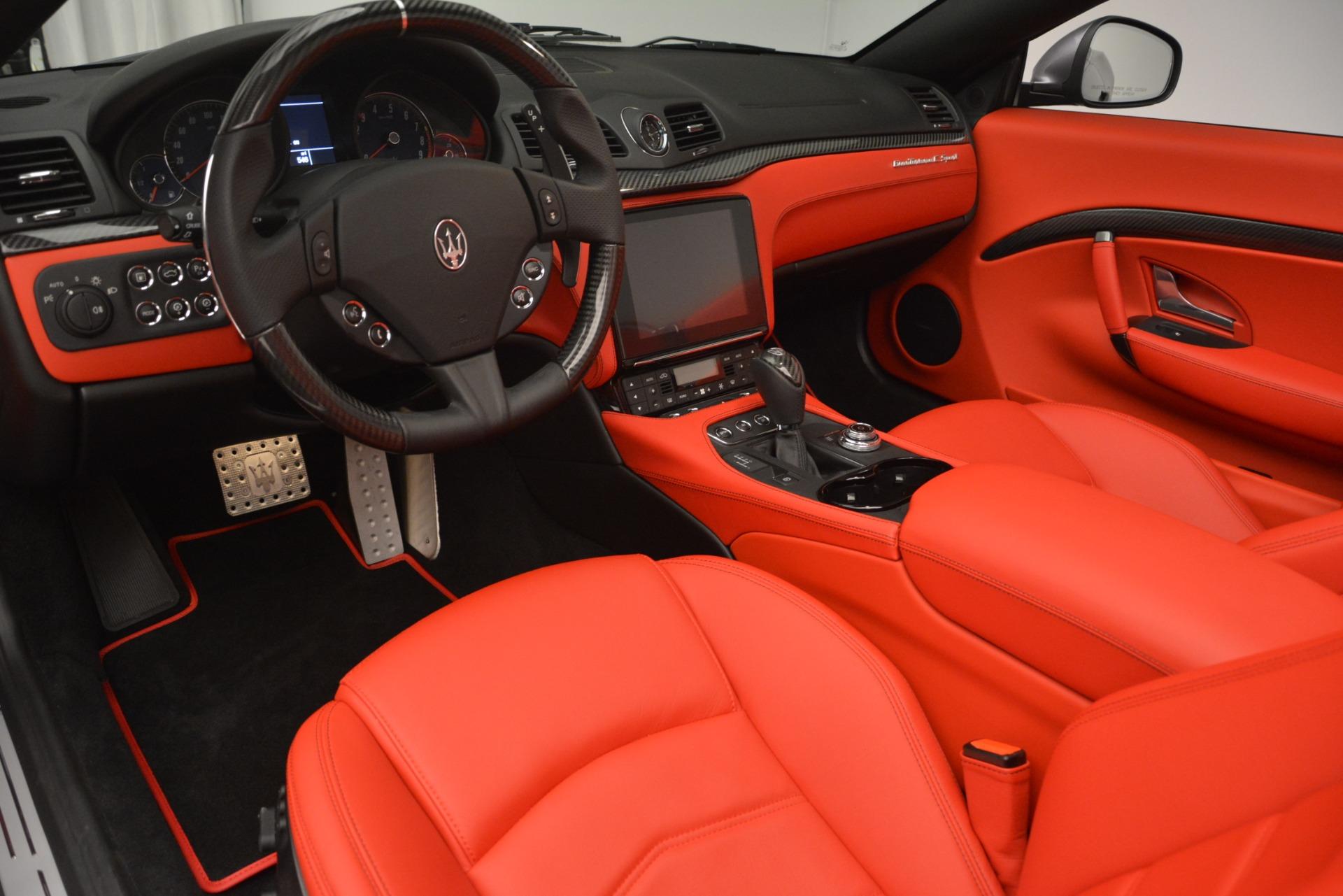 Used 2018 Maserati GranTurismo Sport For Sale In Greenwich, CT 2637_p22
