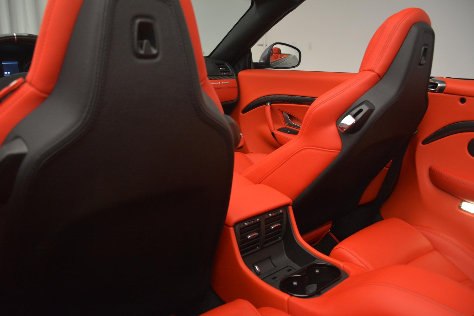 Used 2018 Maserati GranTurismo Sport For Sale In Greenwich, CT 2637_p25