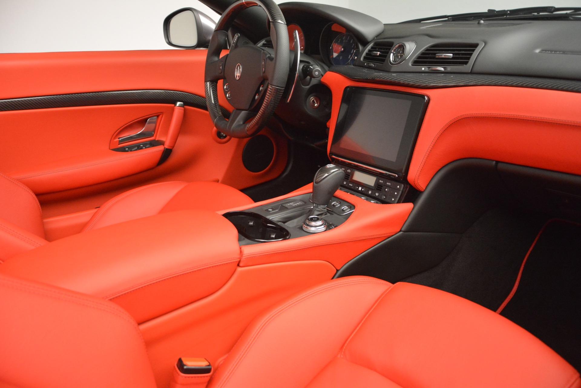 Used 2018 Maserati GranTurismo Sport For Sale In Greenwich, CT 2637_p28