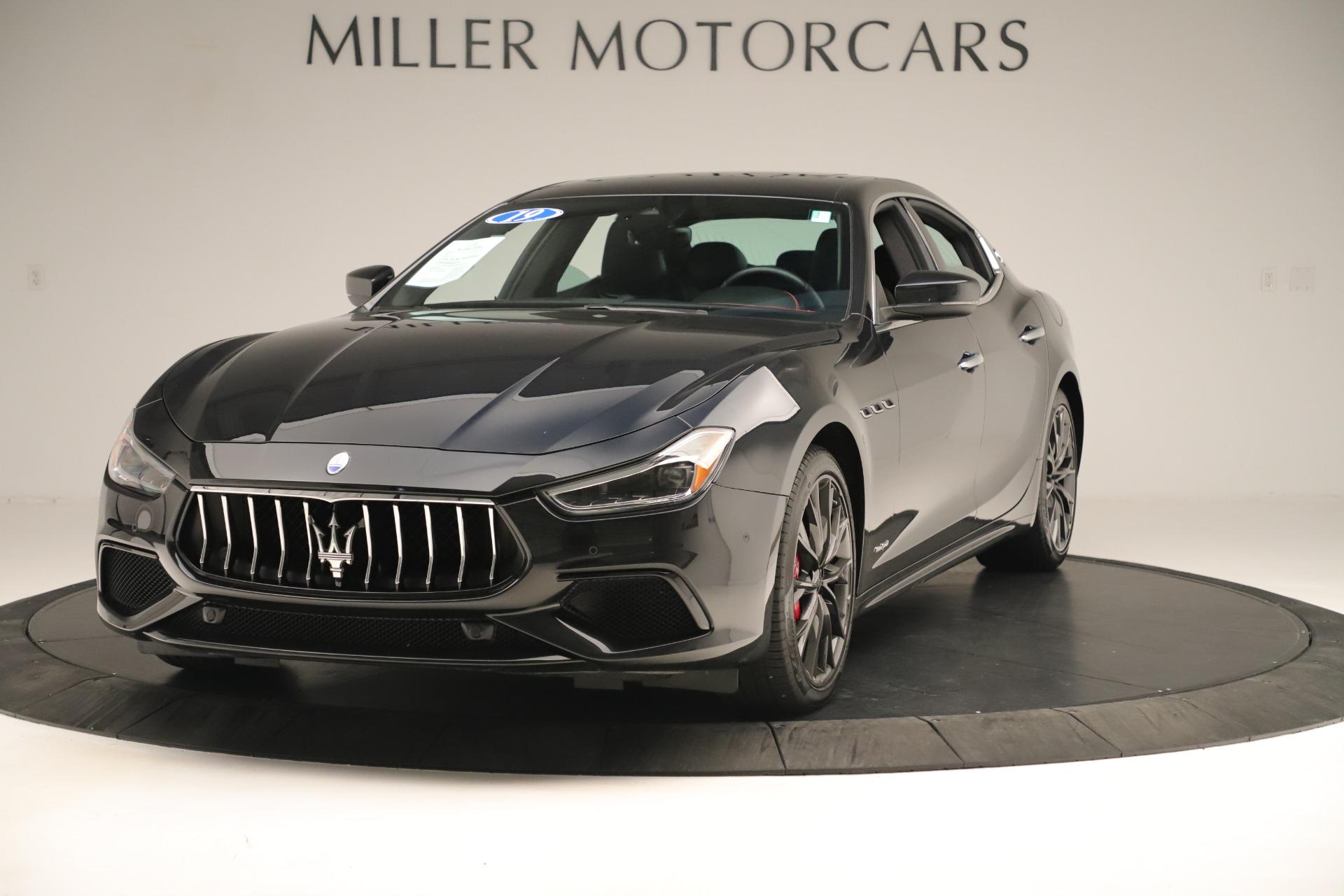 New 2019 Maserati Ghibli S Q4 GranSport For Sale In Greenwich, CT 2640_main