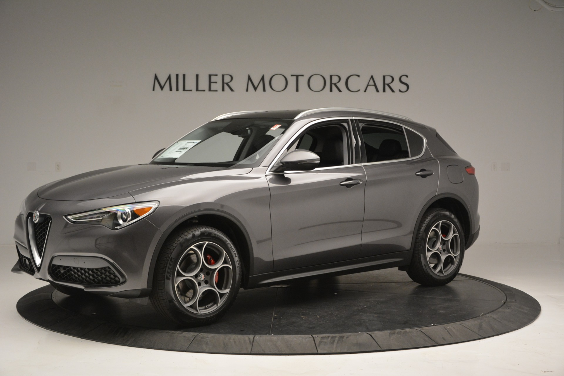 New 2019 Alfa Romeo Stelvio Q4 For Sale In Greenwich, CT 2653_p2