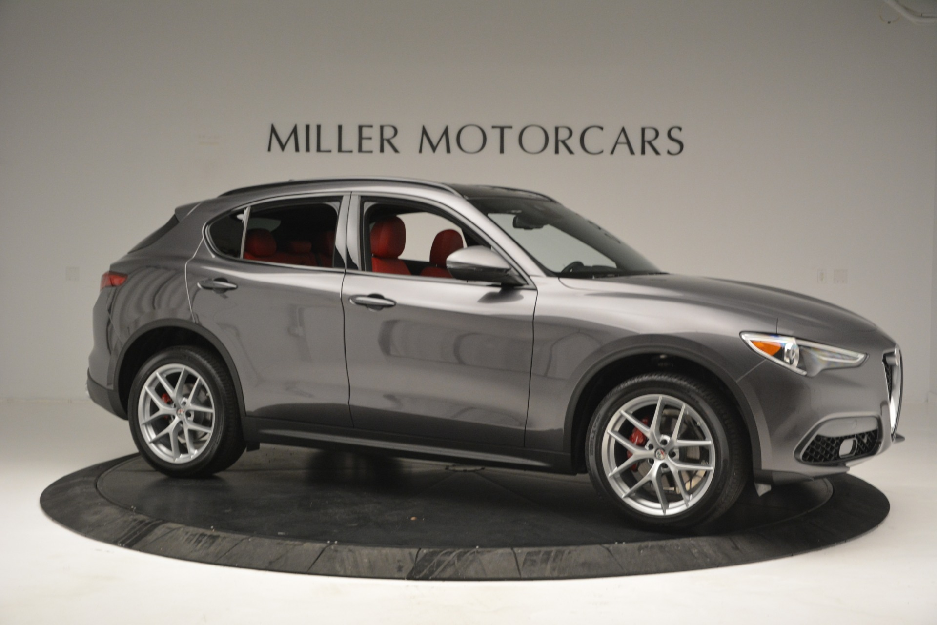 New 2019 Alfa Romeo Stelvio Ti Sport Q4 For Sale In Greenwich, CT 2668_p10