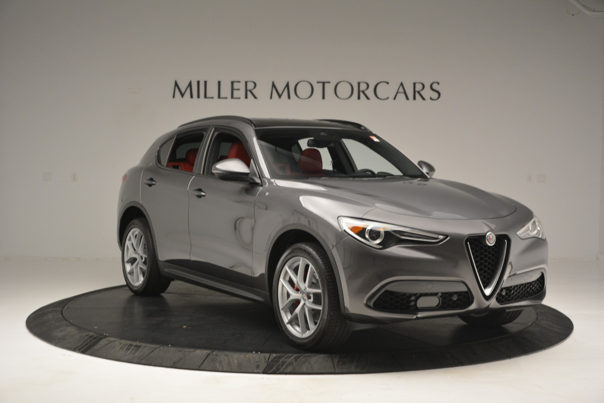 New 2019 Alfa Romeo Stelvio Ti Sport Q4 For Sale In Greenwich, CT 2668_p11