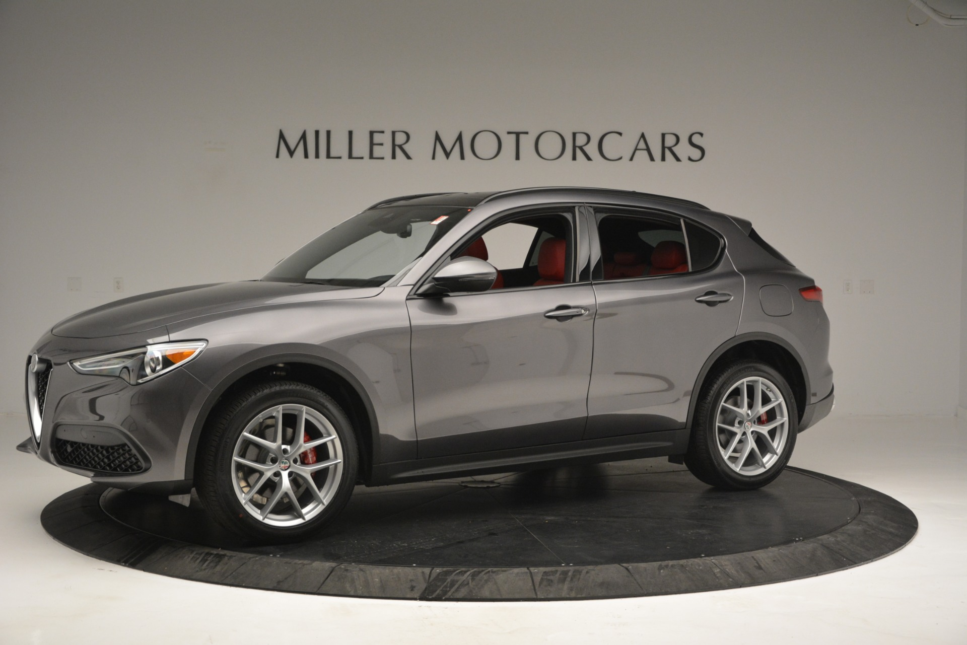 New 2019 Alfa Romeo Stelvio Ti Sport Q4 For Sale In Greenwich, CT 2668_p2