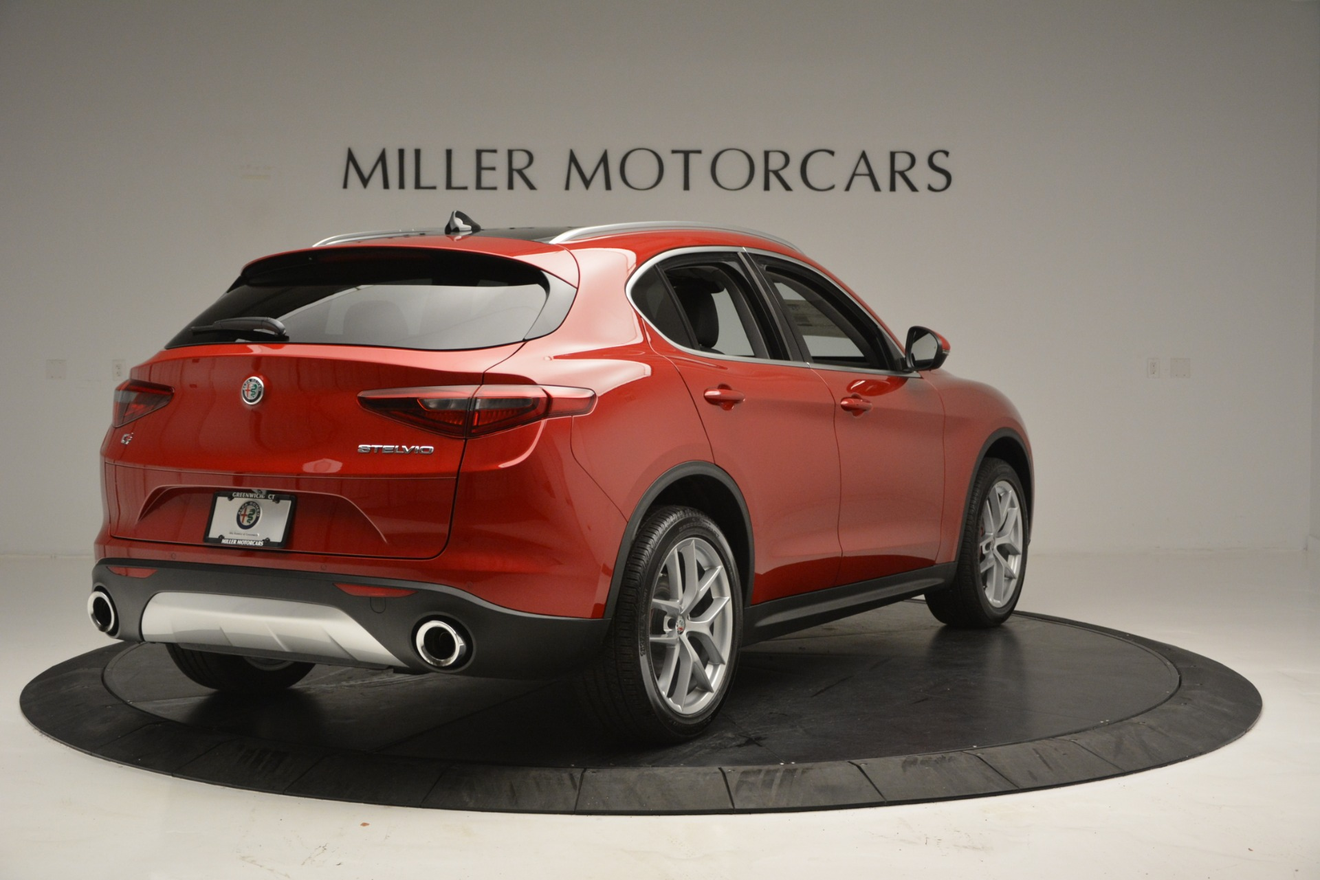 New 2018 Alfa Romeo Stelvio Ti Lusso Q4 For Sale In Greenwich, CT 2704_p7