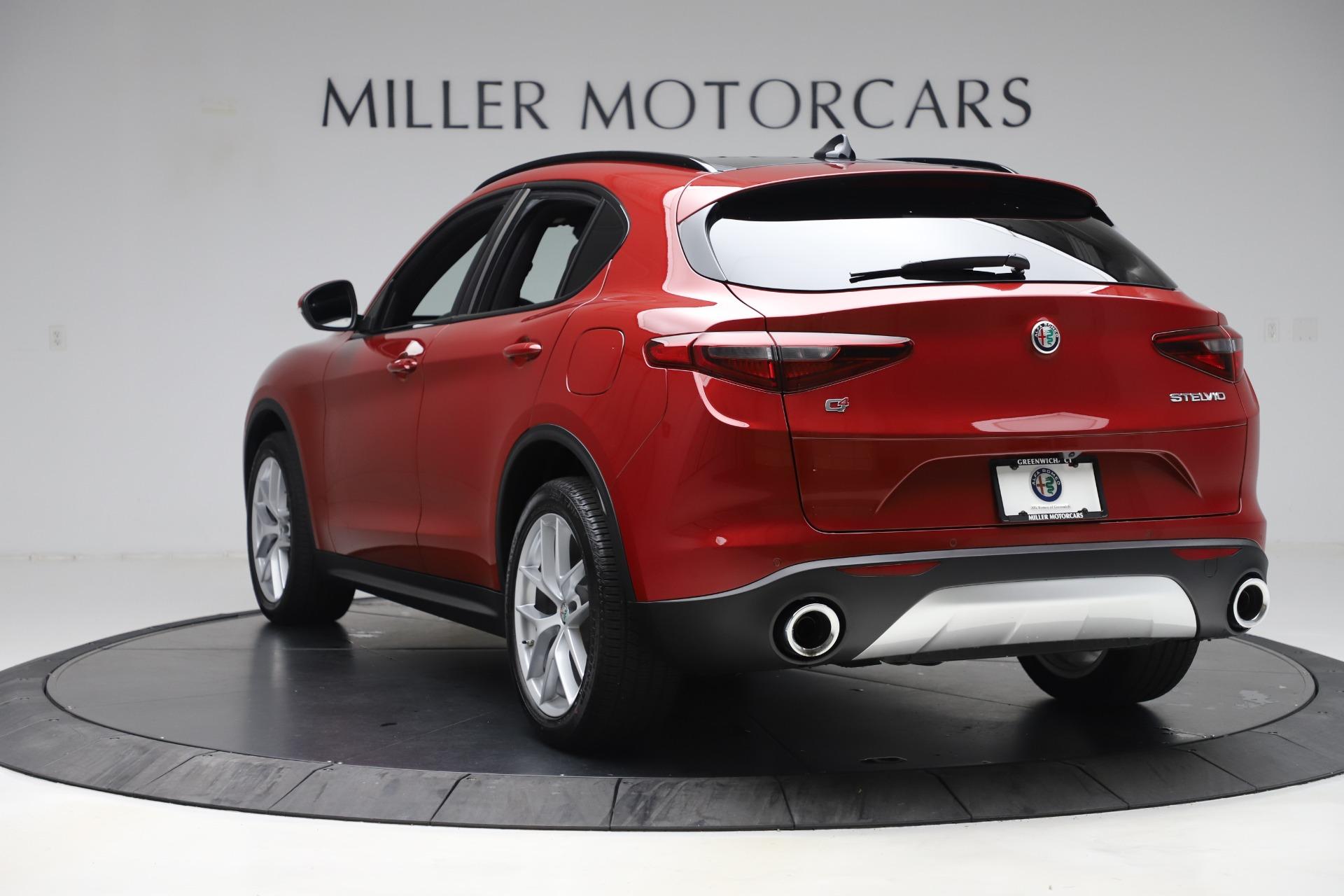 New 2019 Alfa Romeo Stelvio Ti Sport Q4 For Sale In Greenwich, CT 2744_p5