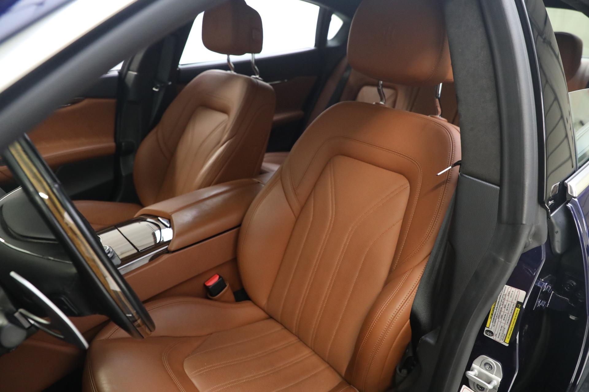 New 2019 Maserati Quattroporte S Q4 GranLusso For Sale In Greenwich, CT 2746_p15