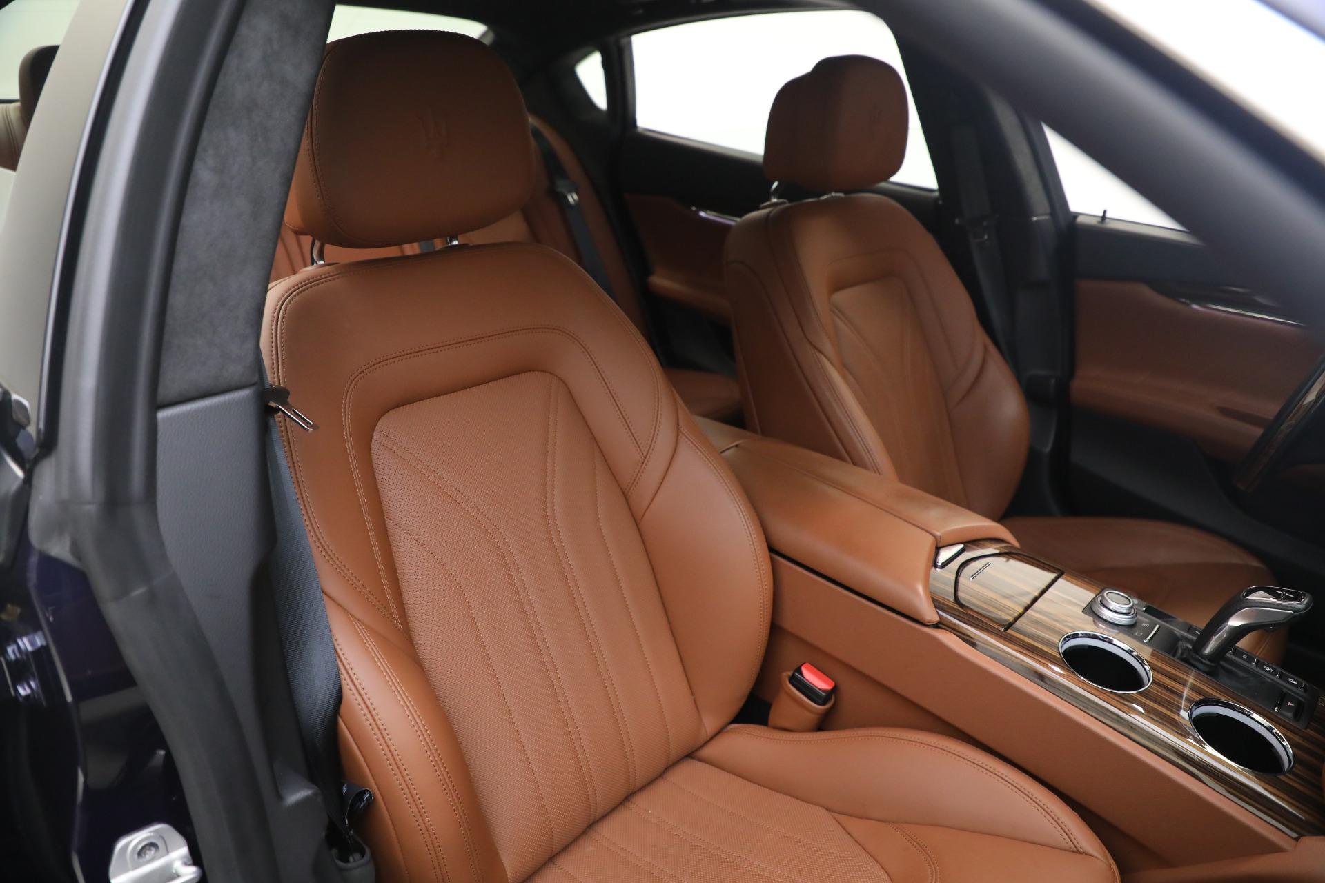 New 2019 Maserati Quattroporte S Q4 GranLusso For Sale In Greenwich, CT 2746_p20