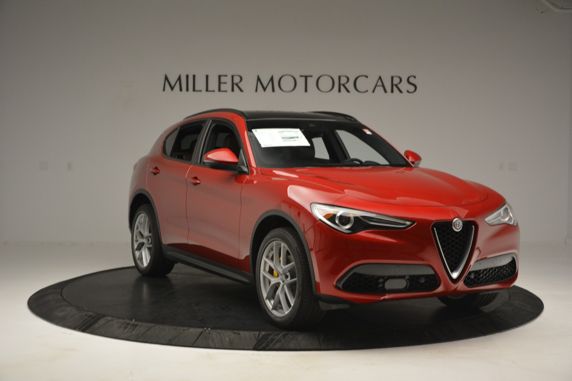 New 2019 Alfa Romeo Stelvio Ti Sport Q4 For Sale In Greenwich, CT 2747_p11