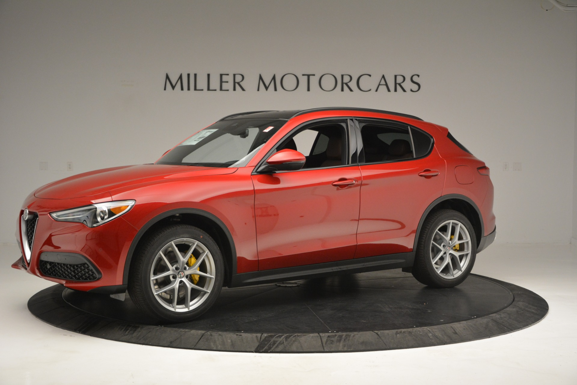 New 2019 Alfa Romeo Stelvio Ti Sport Q4 For Sale In Greenwich, CT 2747_p2